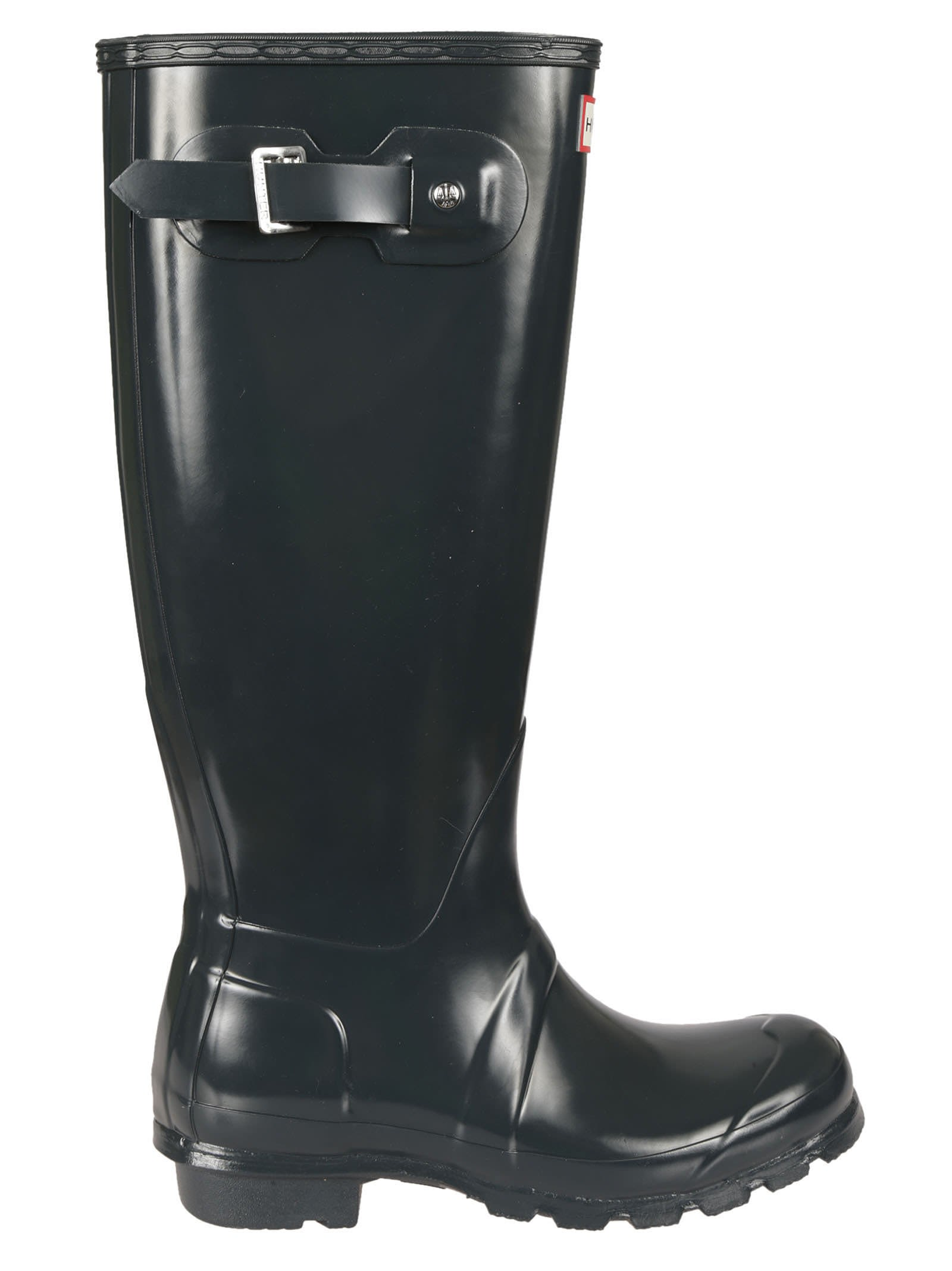 Hunter Ocean Buckle Knee Lenght Rain Boots