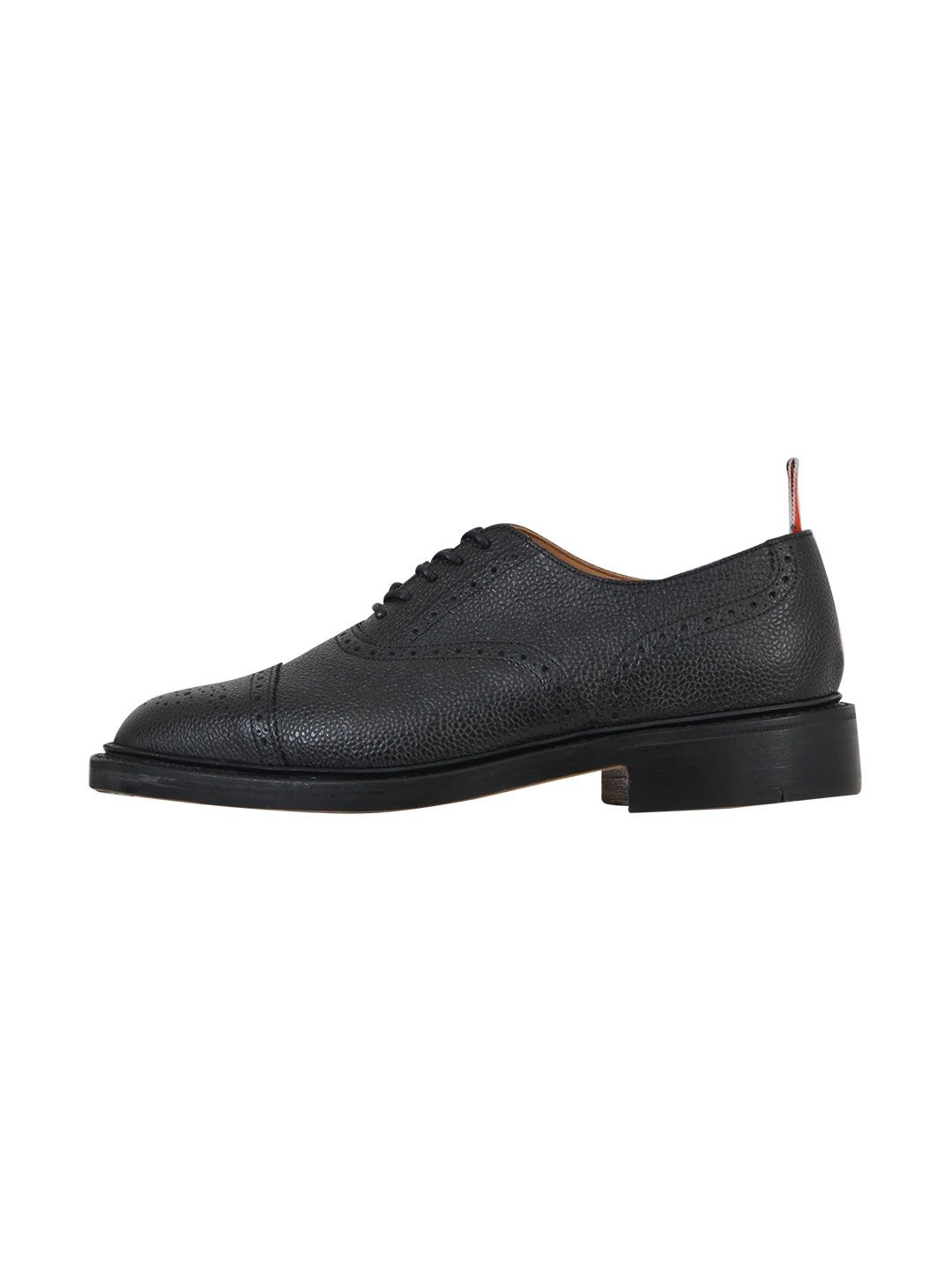 Thom Browne Black Brogue Shoe