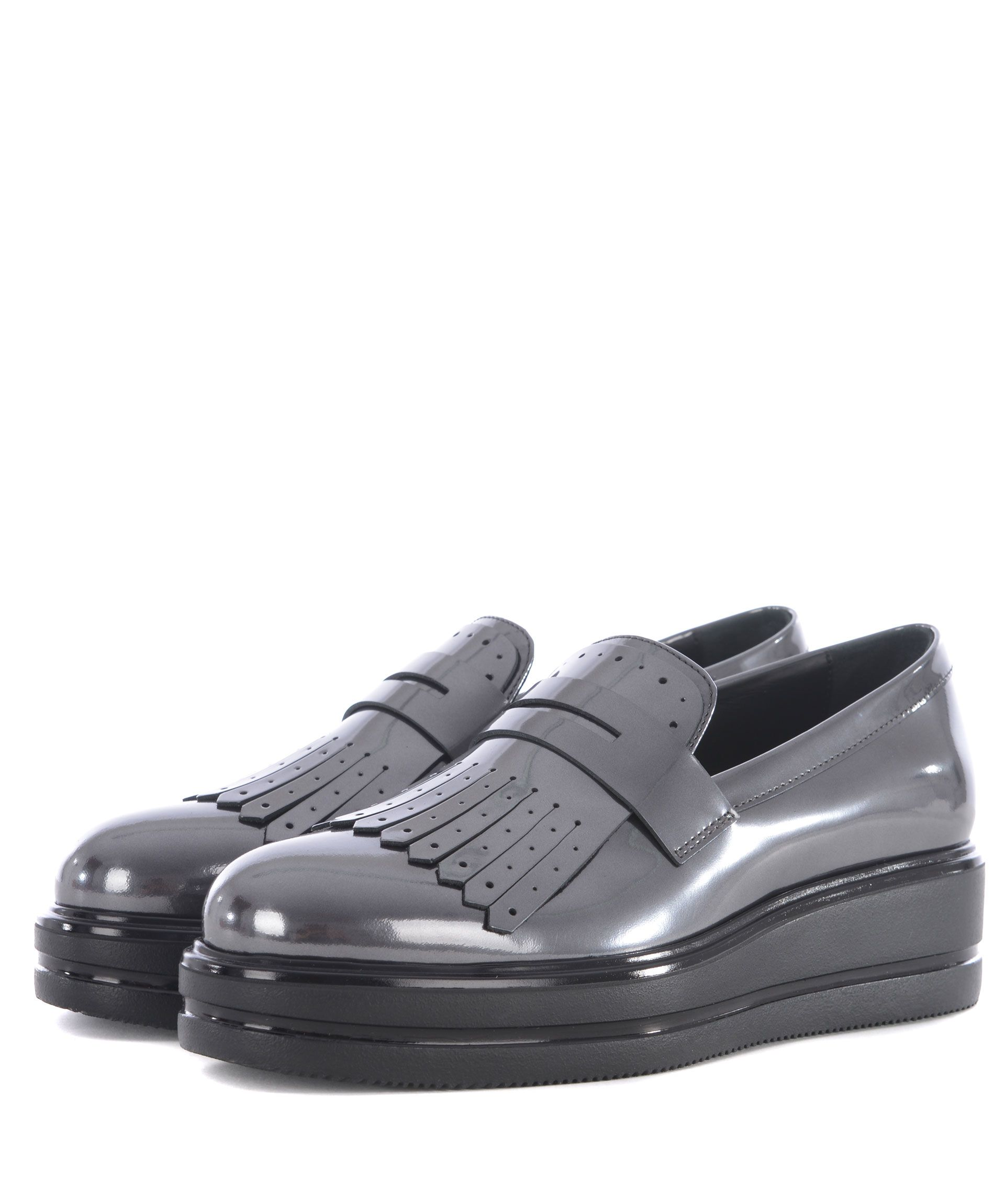 Hogan H323 Maxi Wedge Loafers