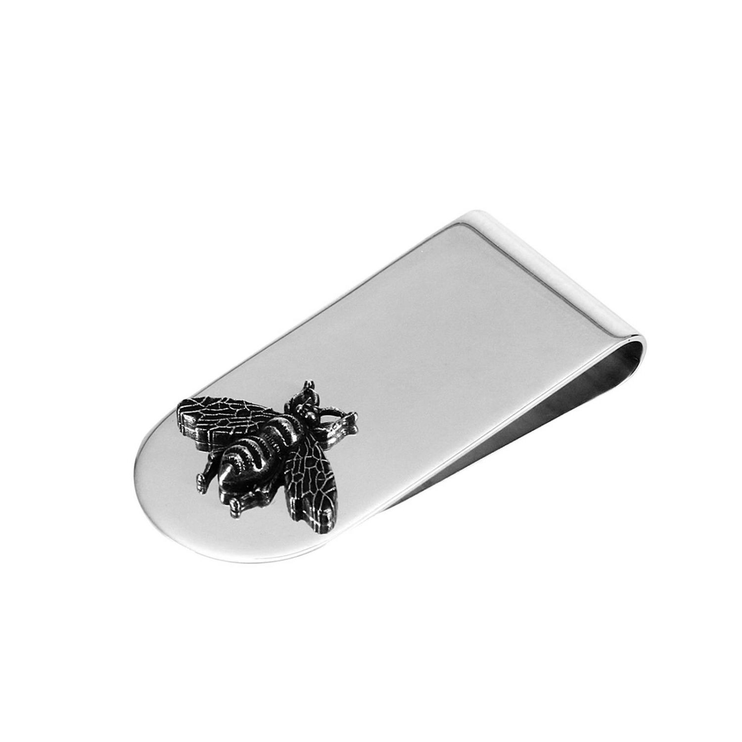 Wallet Silver Bee Moneyclip With Aureco Finishing