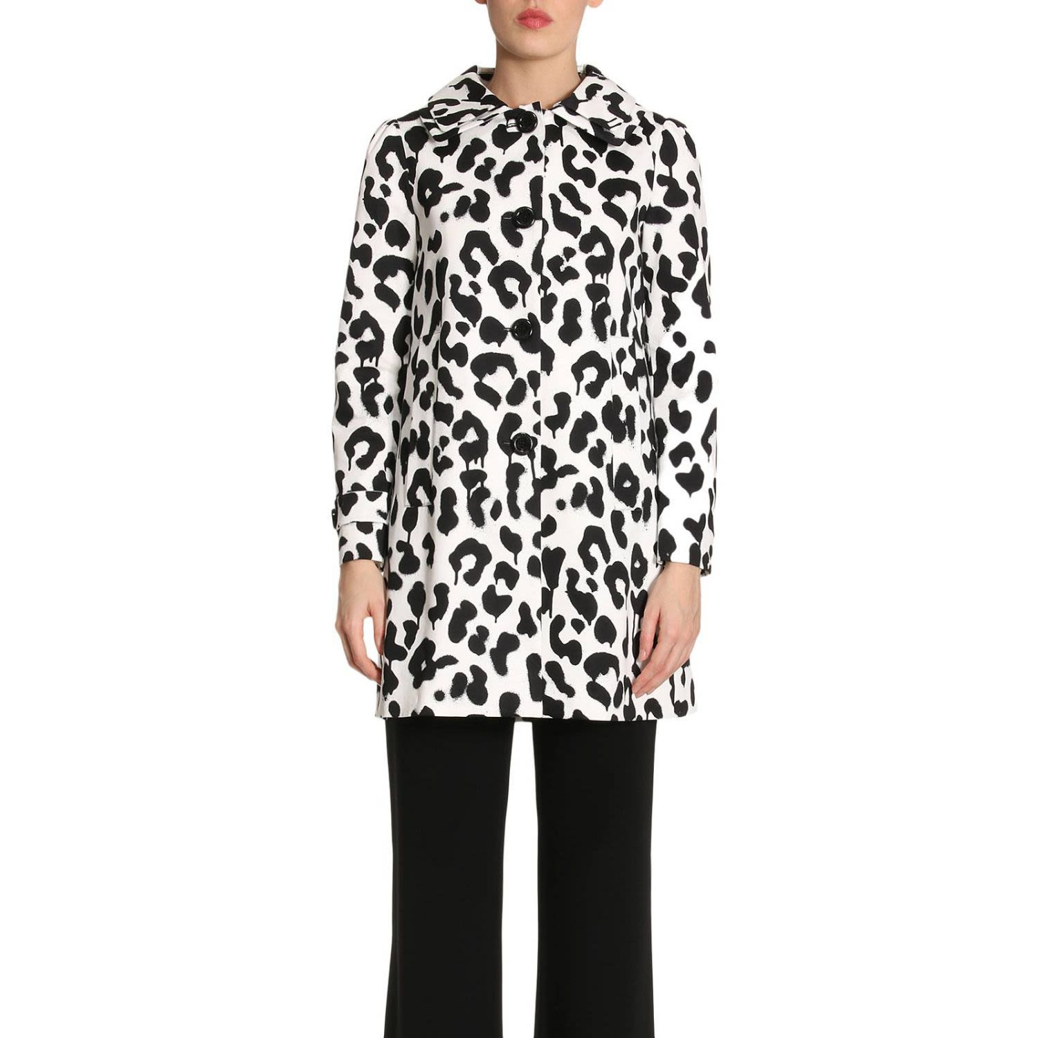Coat Coat Women Boutique Moschino