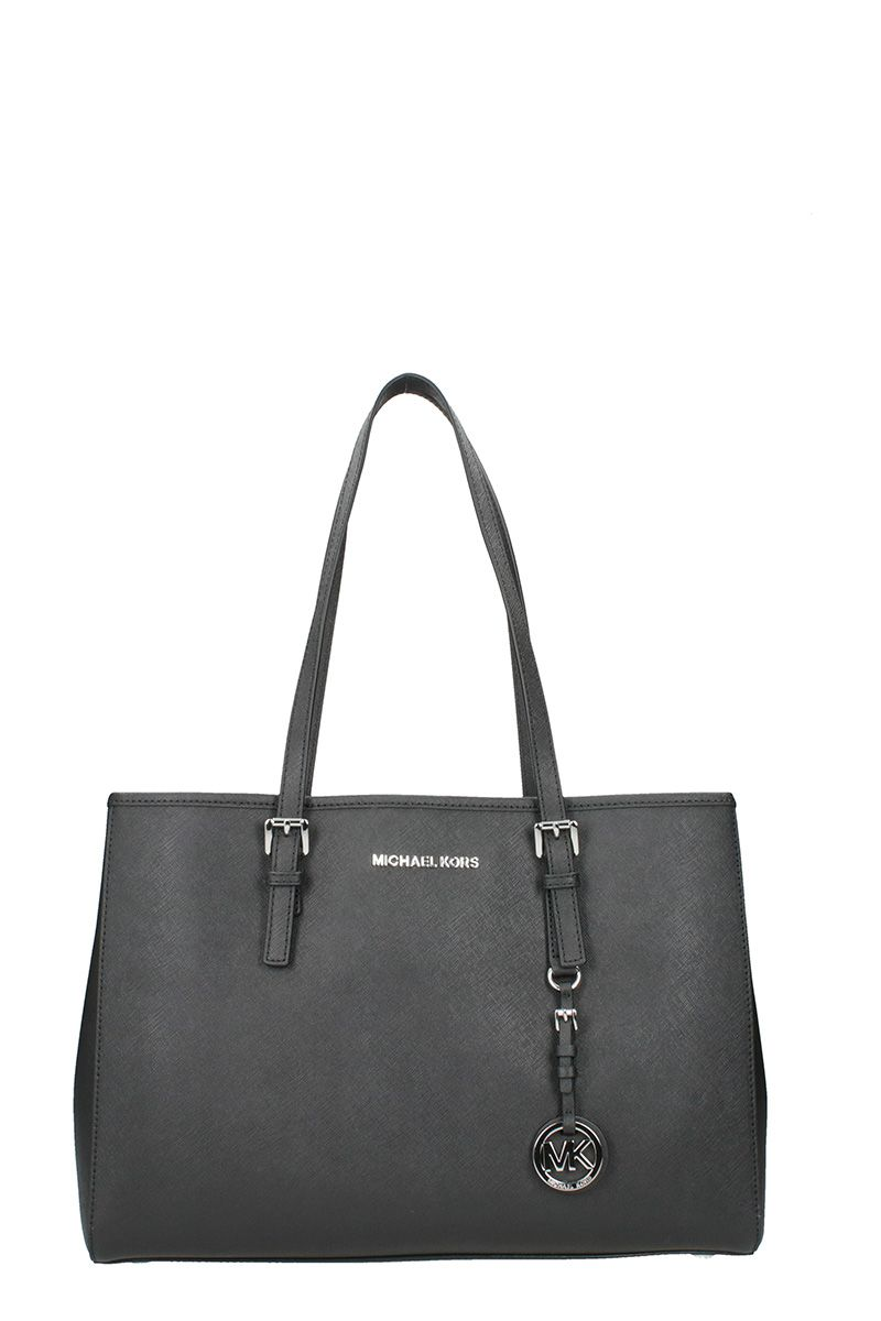 Michael Kors Jet Set Travel Md Tz Mult Font Tote