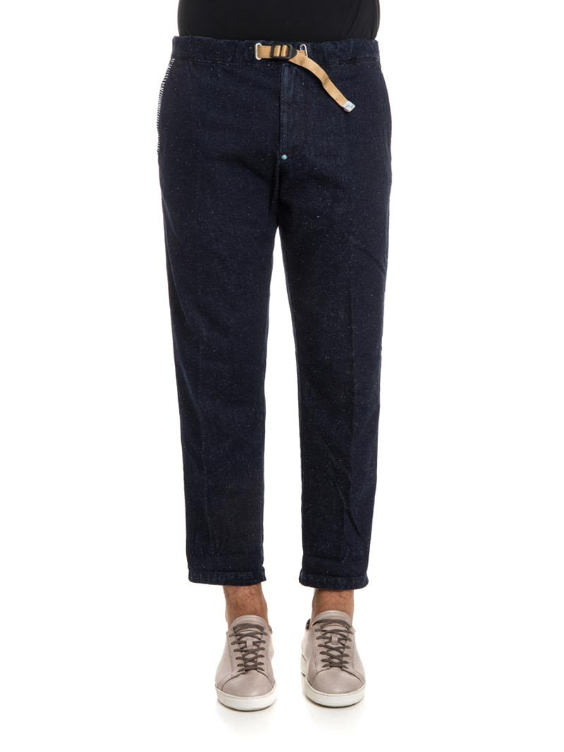 WHITE SAND COTTON TROUSERS
