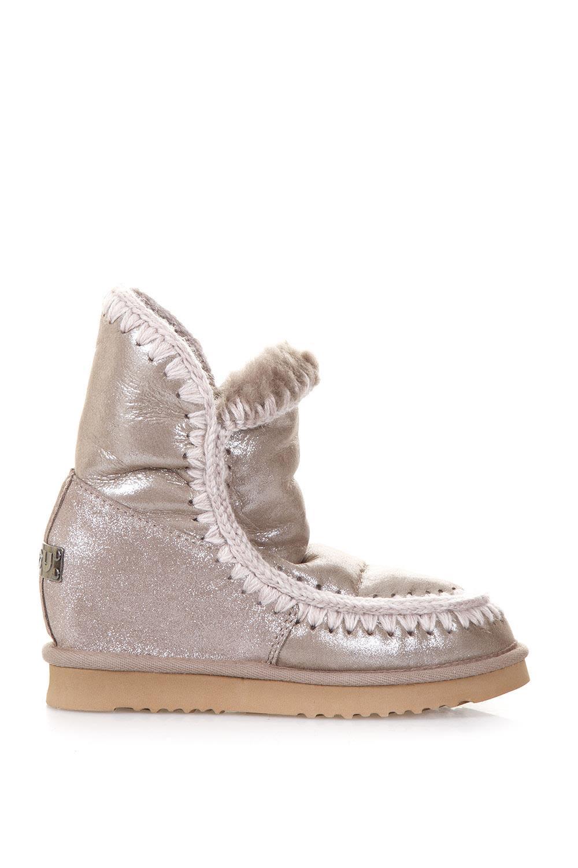 Mou Eskimo Glitter Shearling Boots