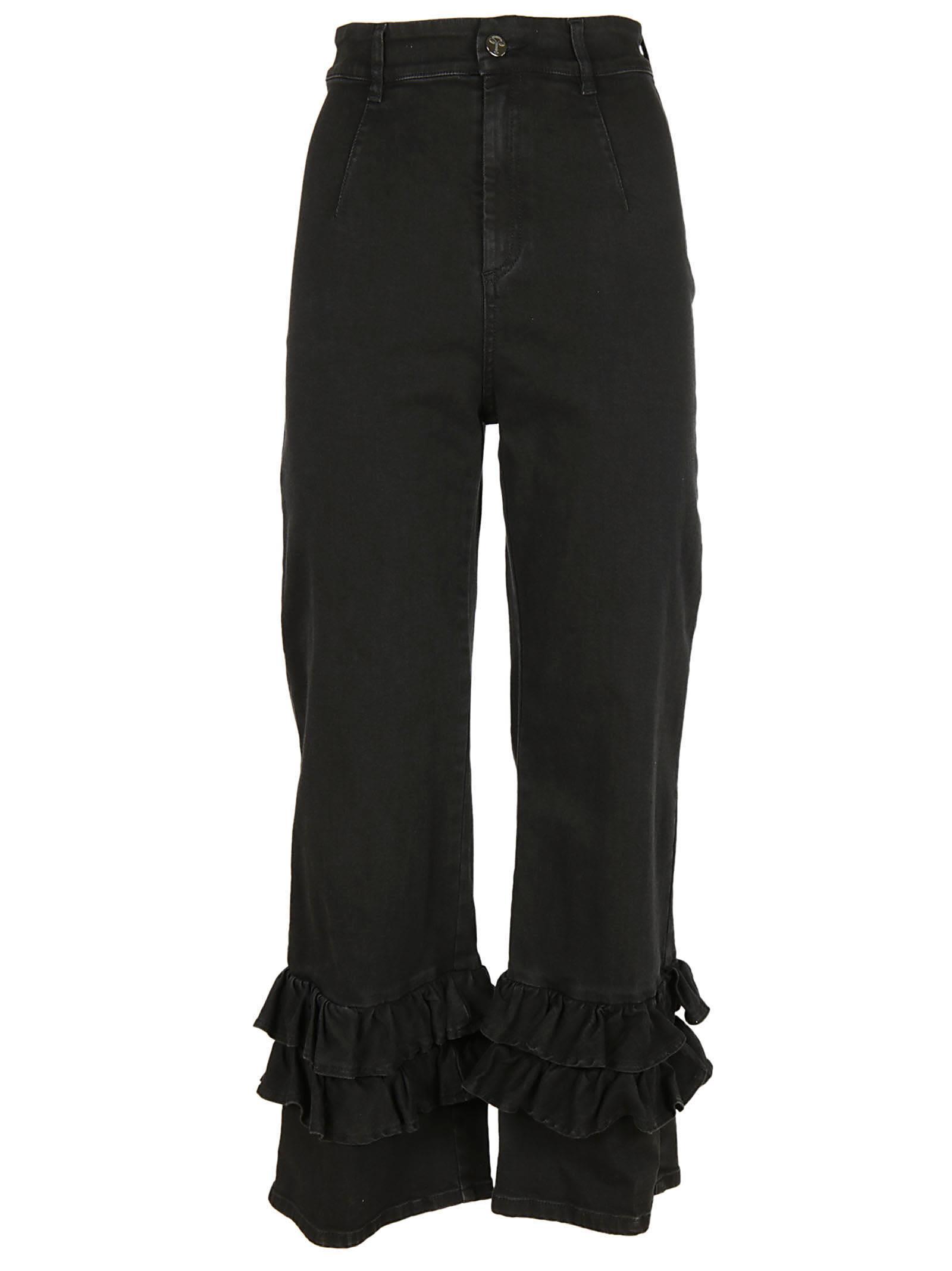 Vivetta Ruffled Jeans