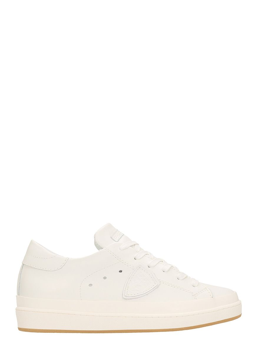 Philippe Model Opera White Leathers Sneakers