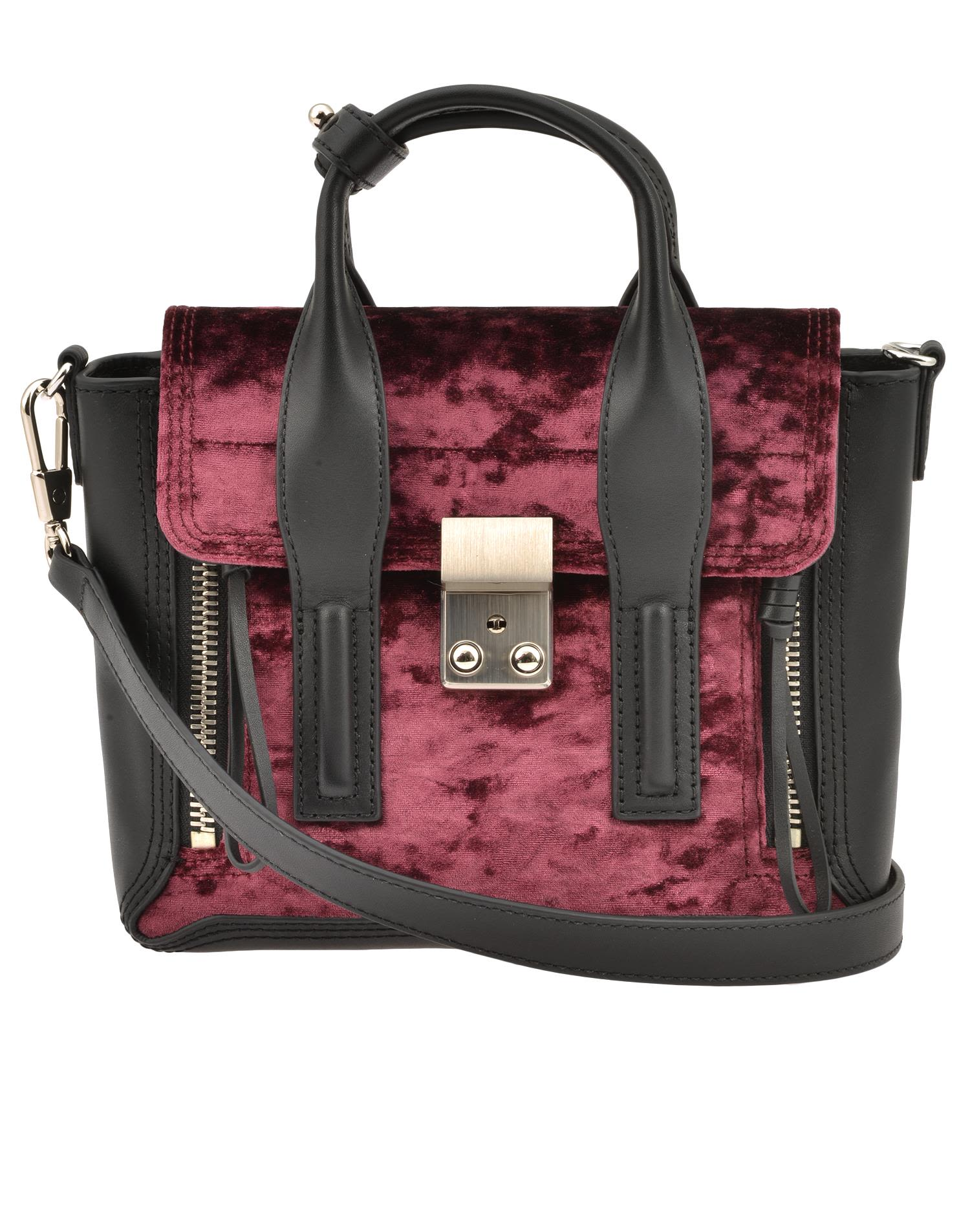 3.1 Phillip Lim Pashli Mini Satchel In Syrah  30d010803