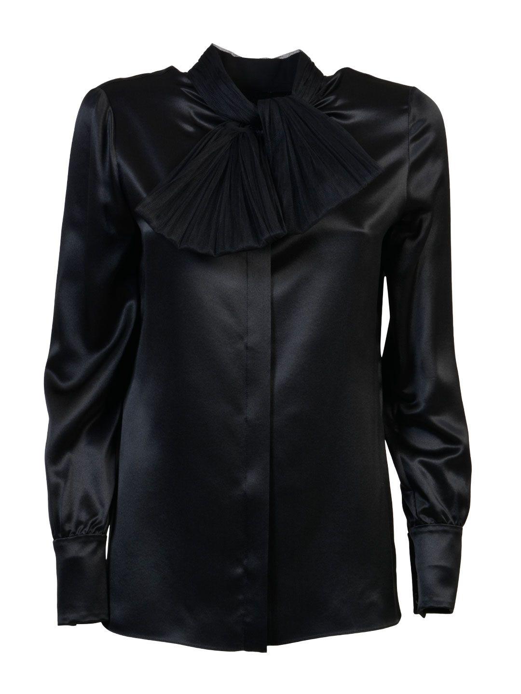 Saint Laurent Shirt With Bow