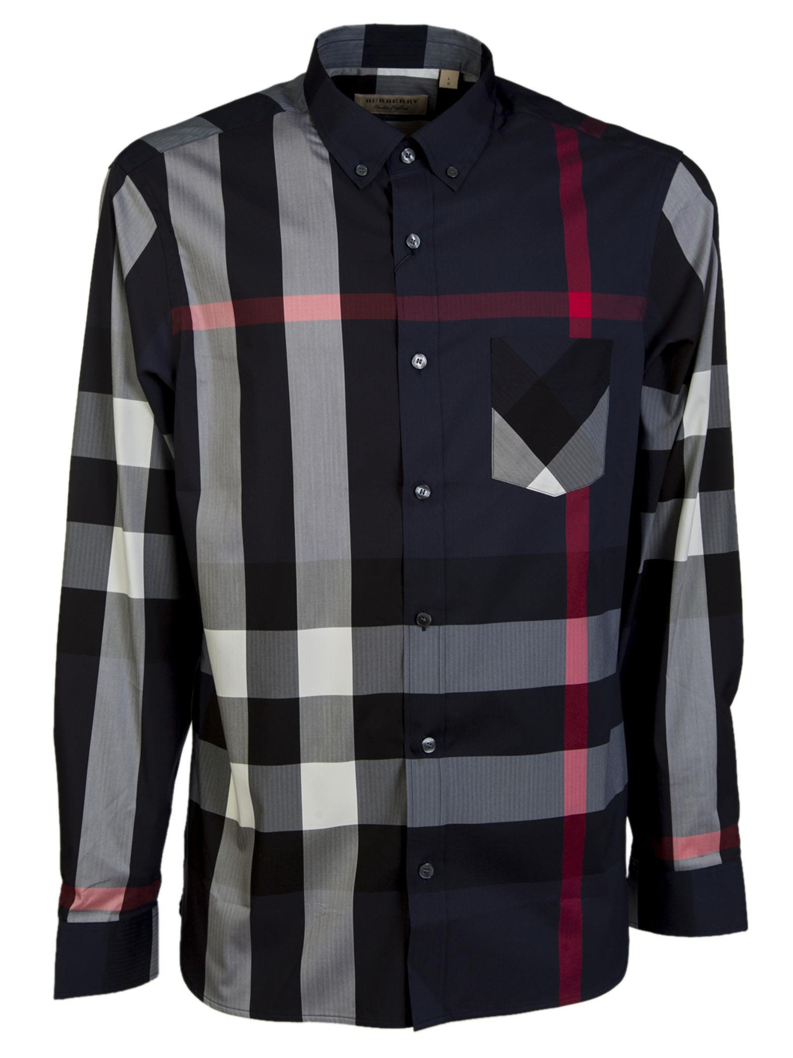 Burberry Longsleeve Checked Shirt