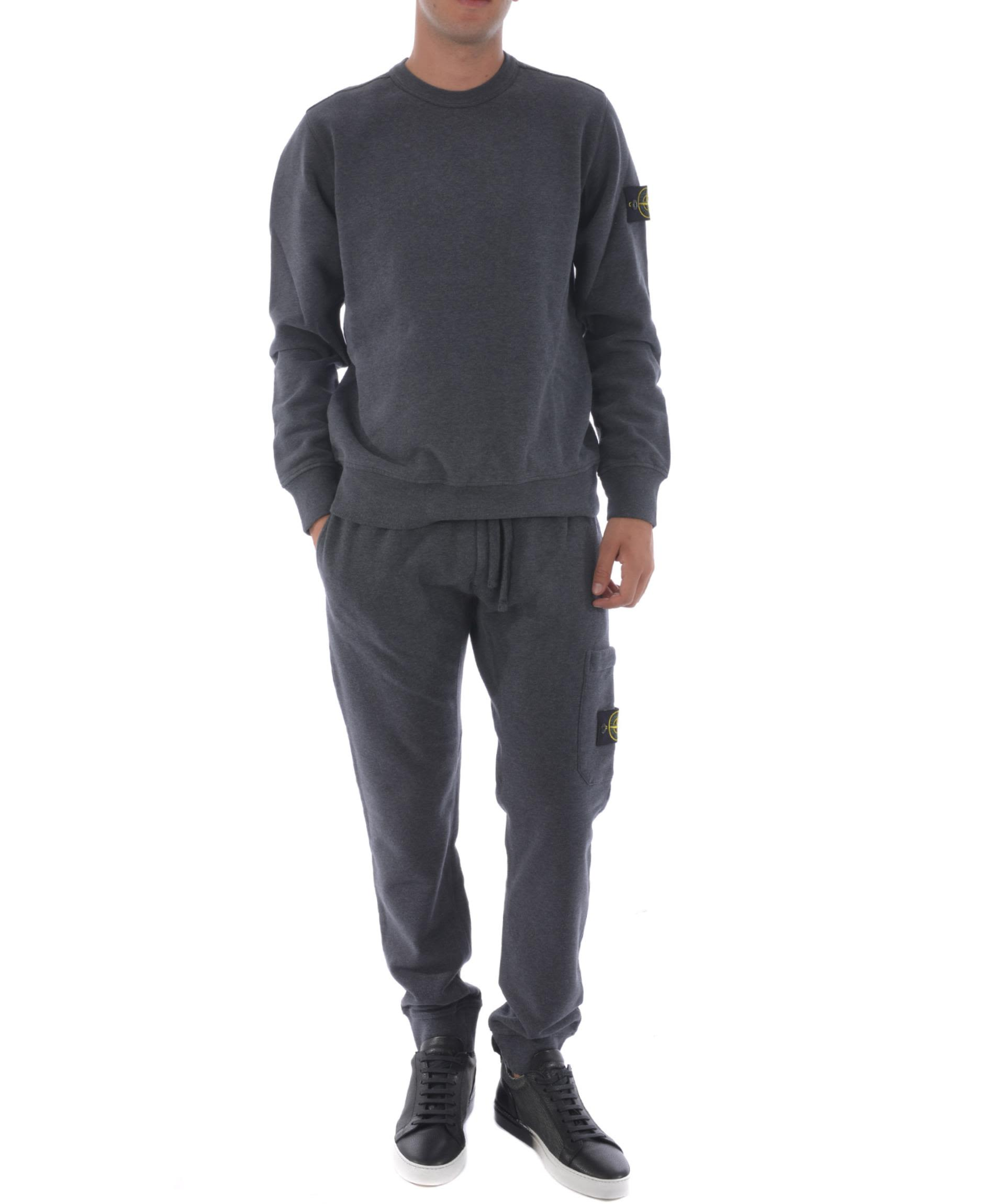 Stone Island Logo Patched Track Pants