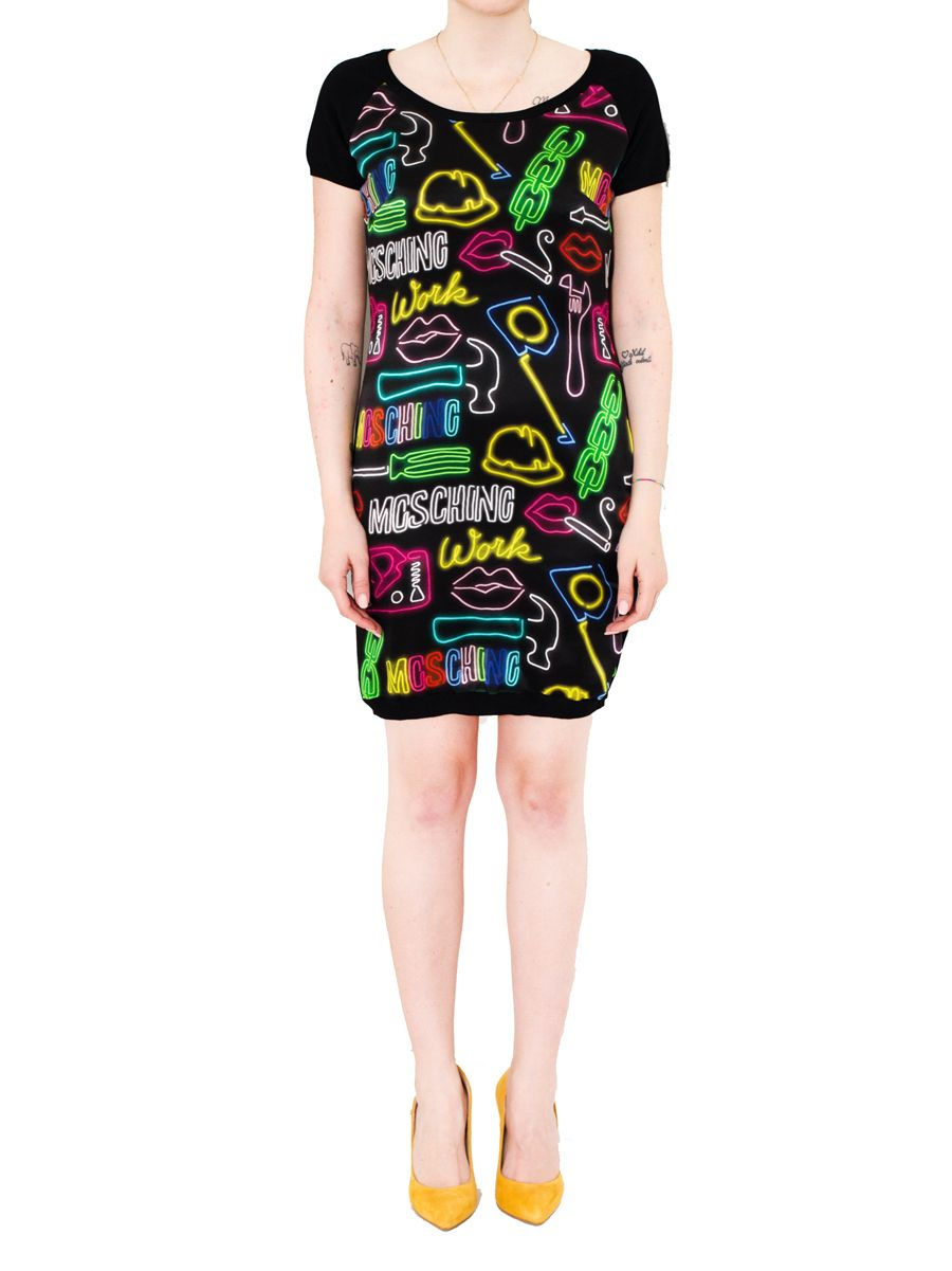 Moschino - Printed Dress