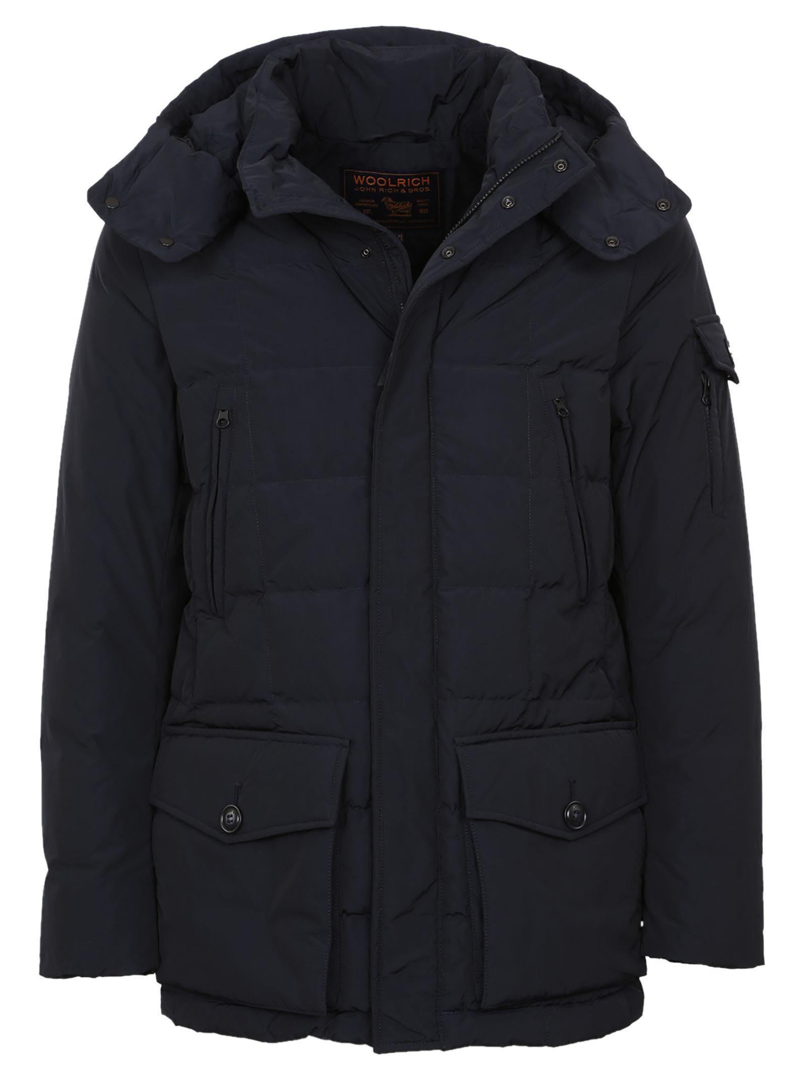 Woolrich Flap Pocket Down Jacket