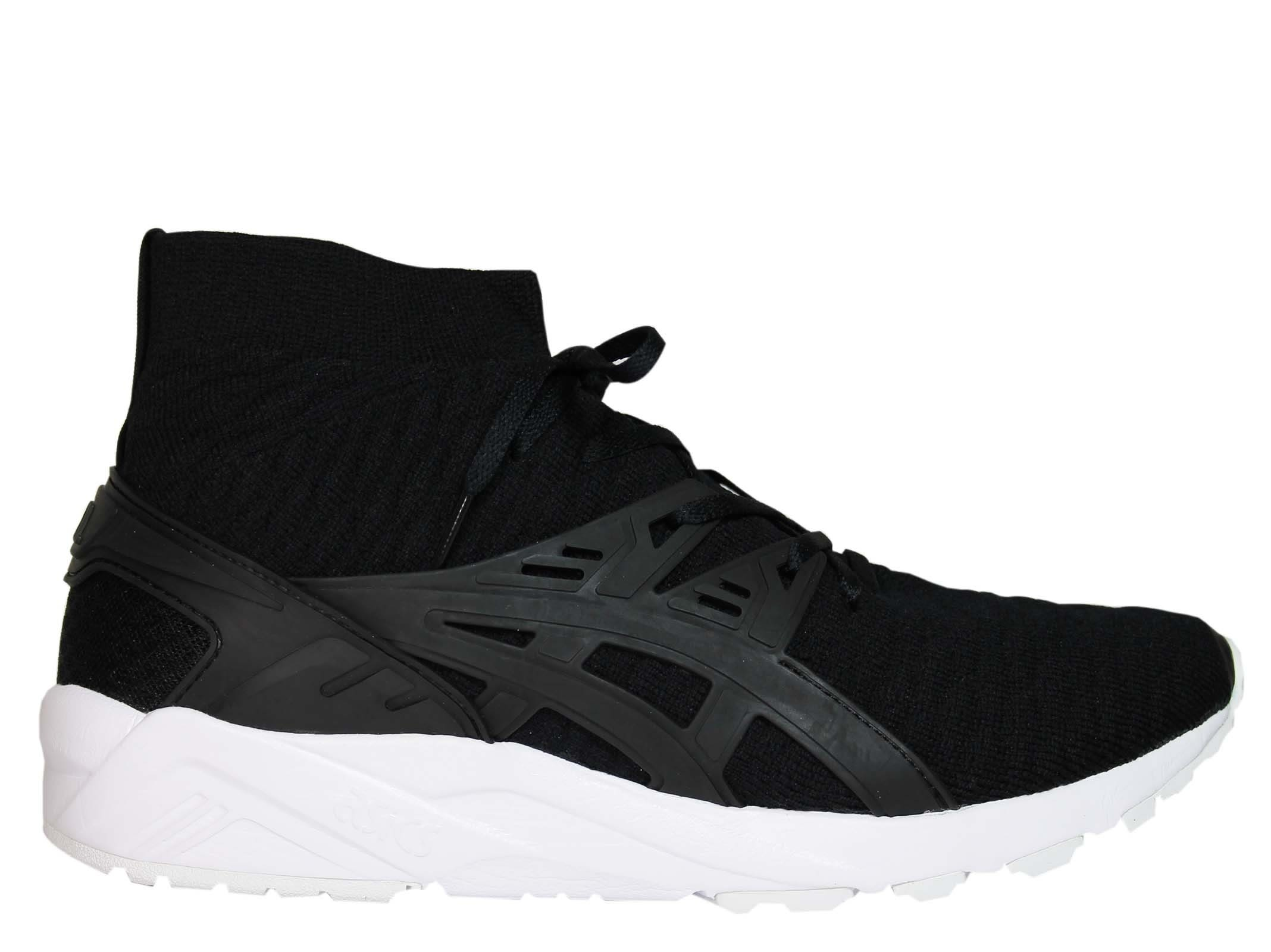 Asics Black Gel Kayano Flyknit Sneakers