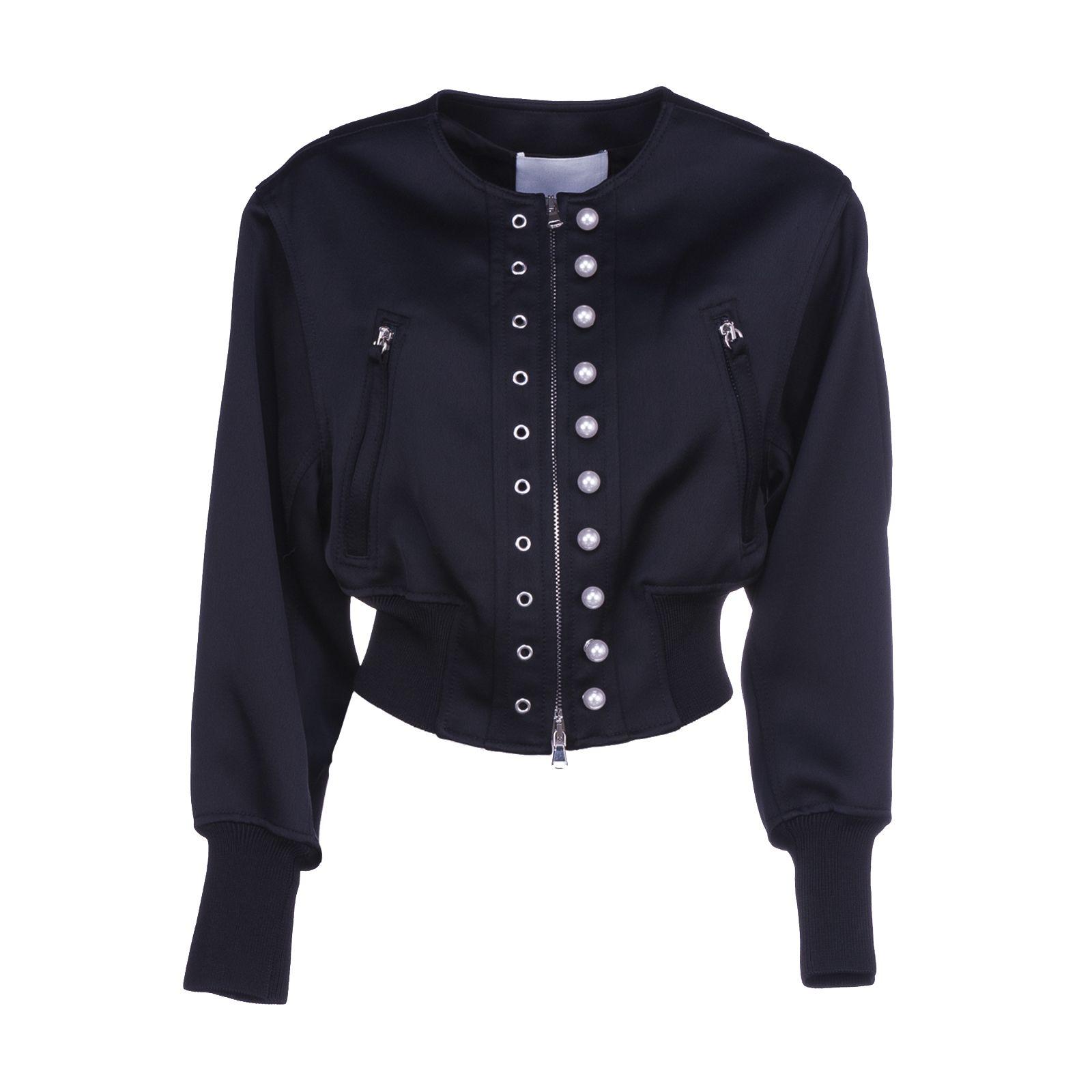 3.1 Phillip Lim Embellished Cropped Jacket