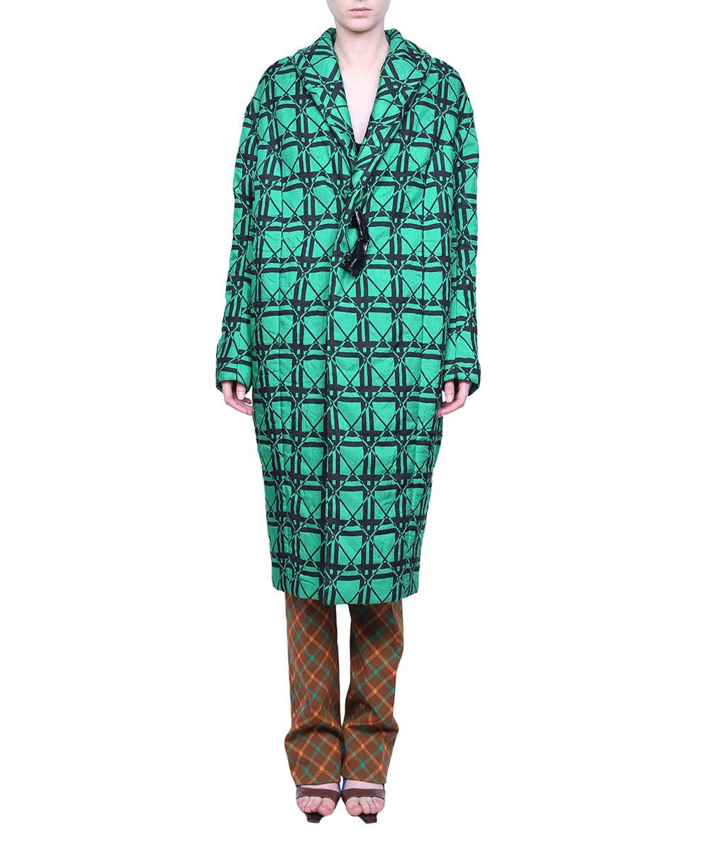Marni Oversized Jacquard Coat