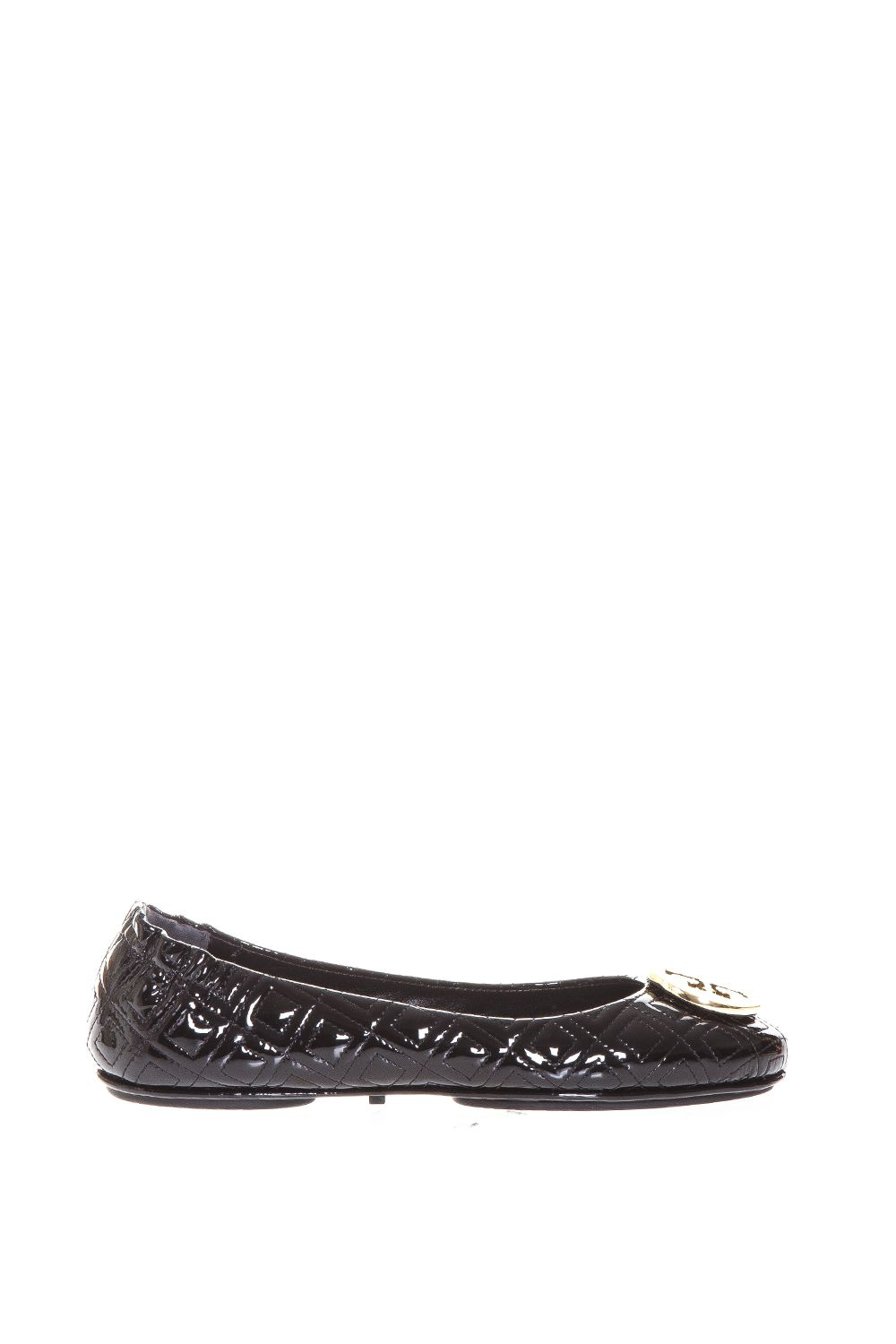 Tory Burch Minnie Travel Ballet Flat In Quilted Leather