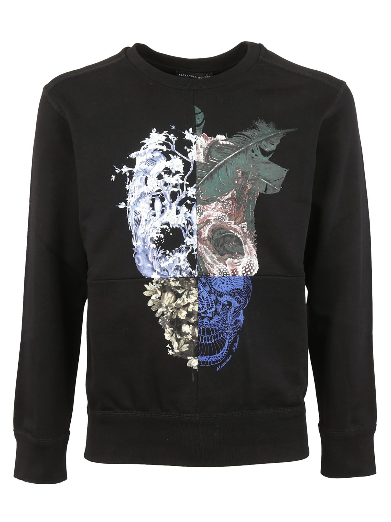 Alexander McQueen Patchwork Skull Sweatshirt
