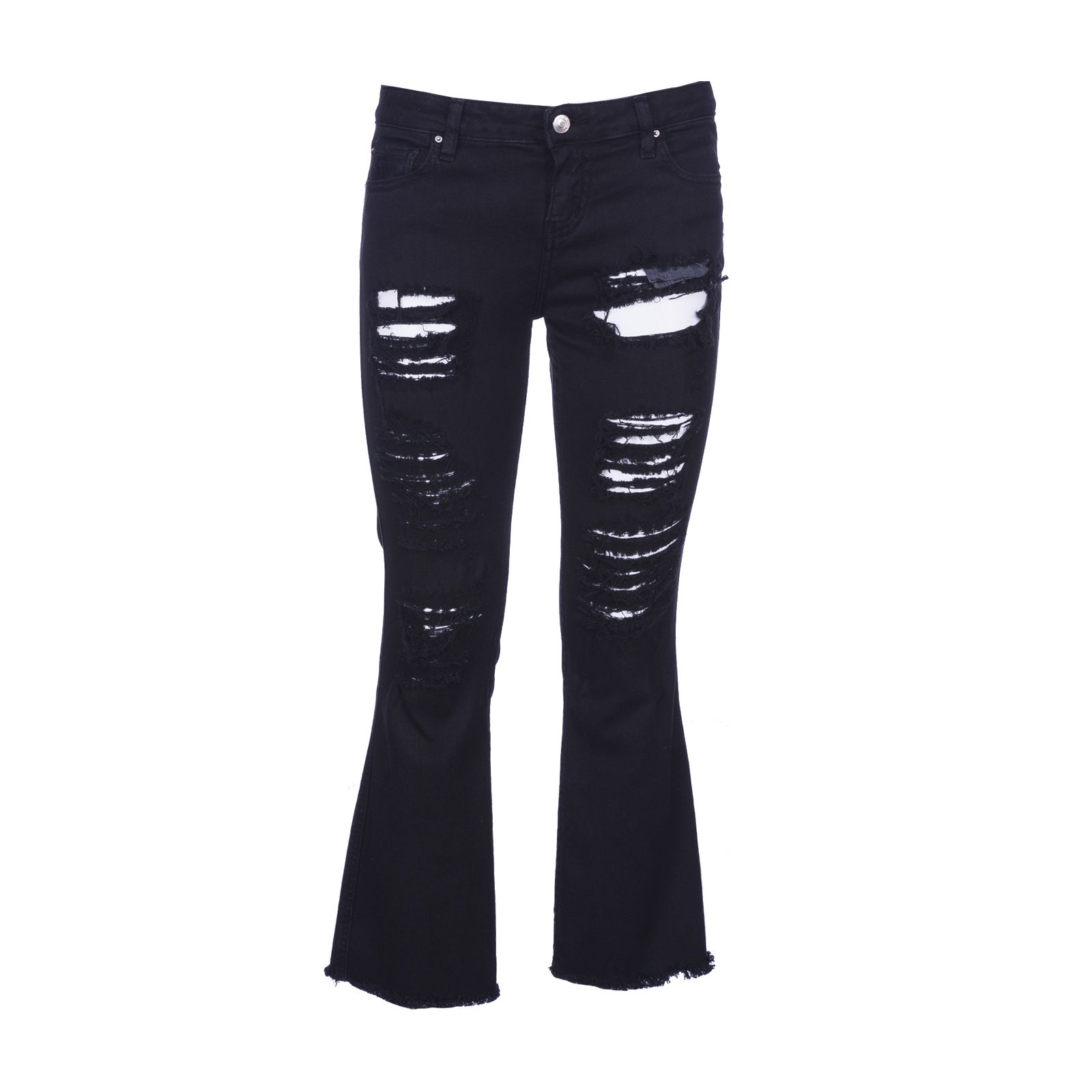 Ripped Cropped Jeans From Iro
