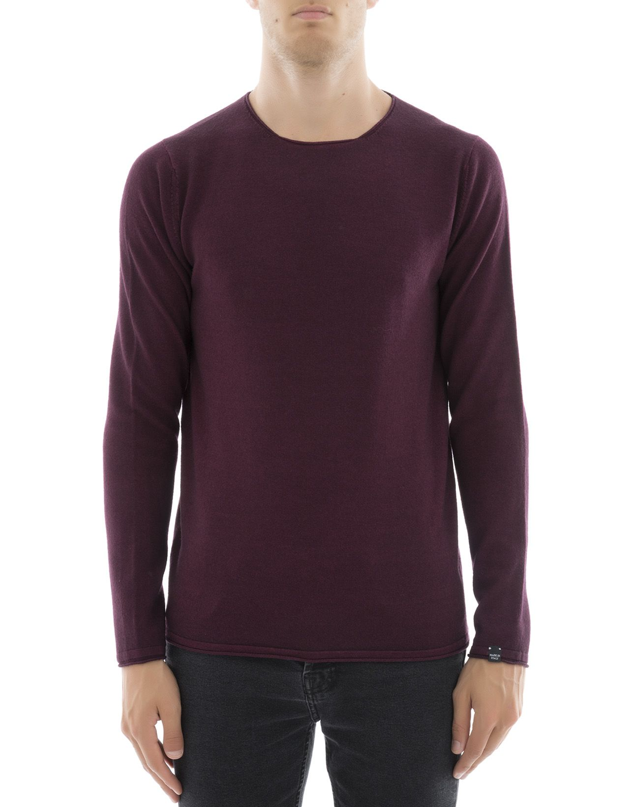 Bordeaux Wool Sweatshirt