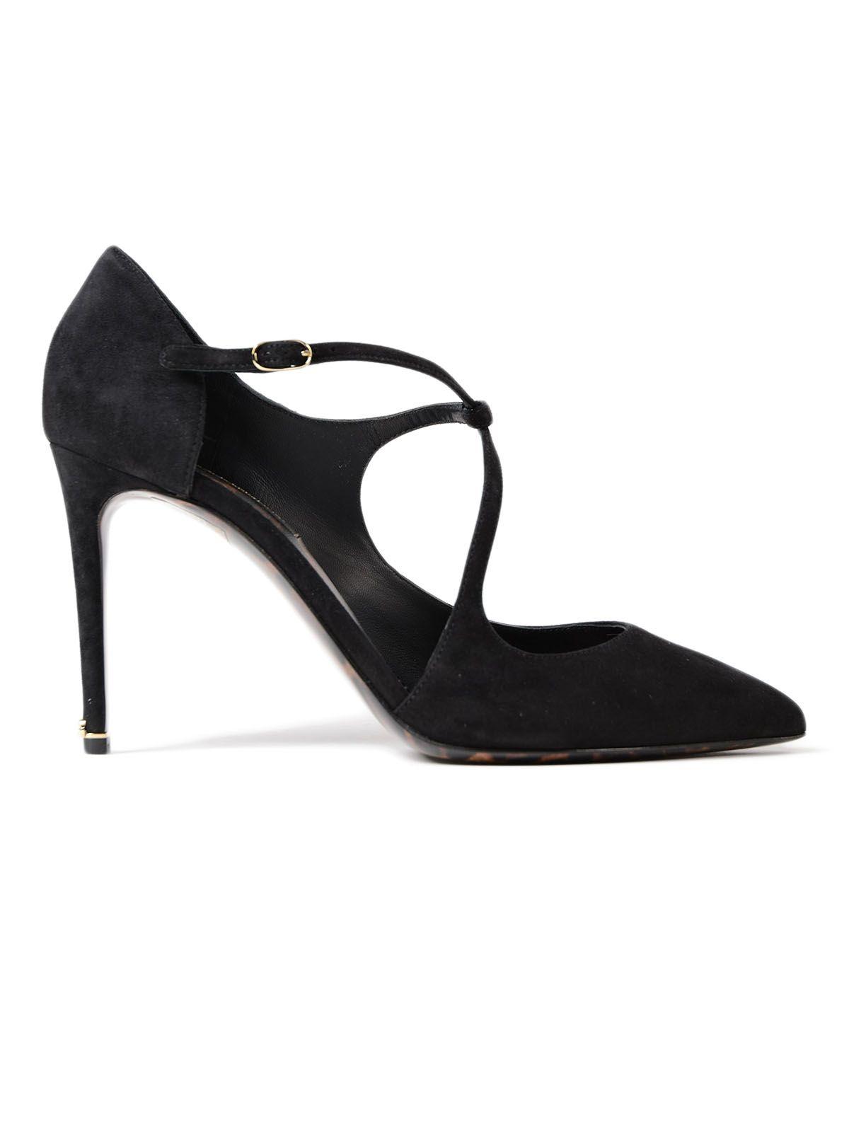Dolce & Gabbana Mary Jane Suede