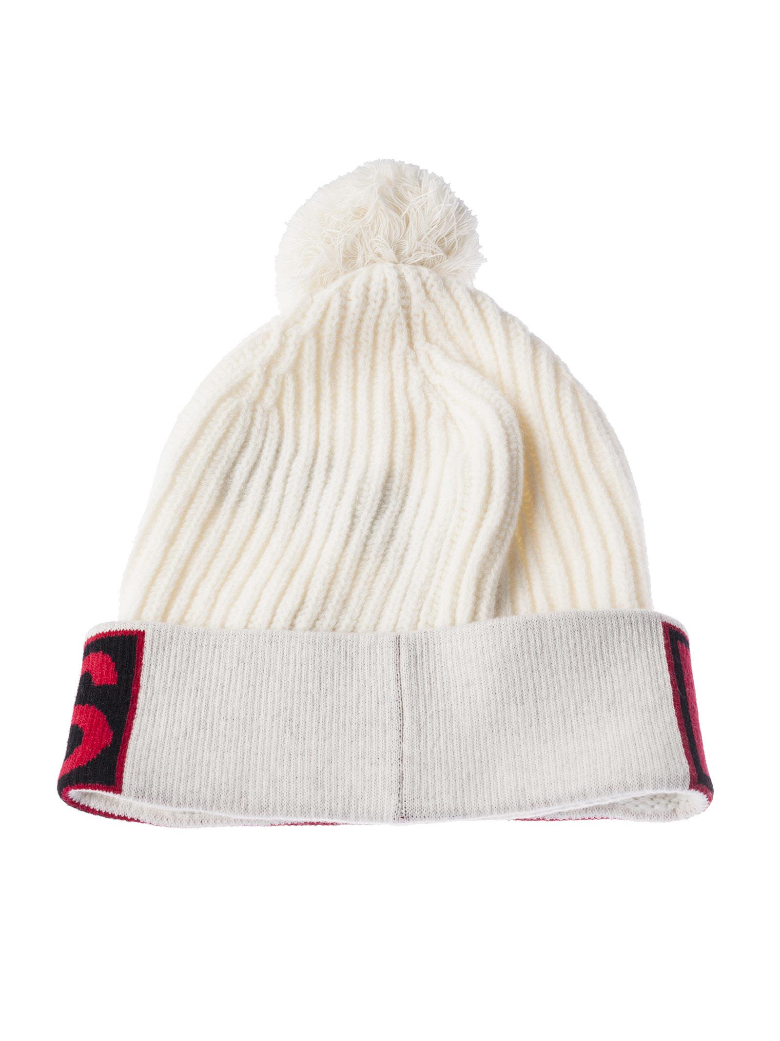 Princess bobble hat - White Dolce & Gabbana