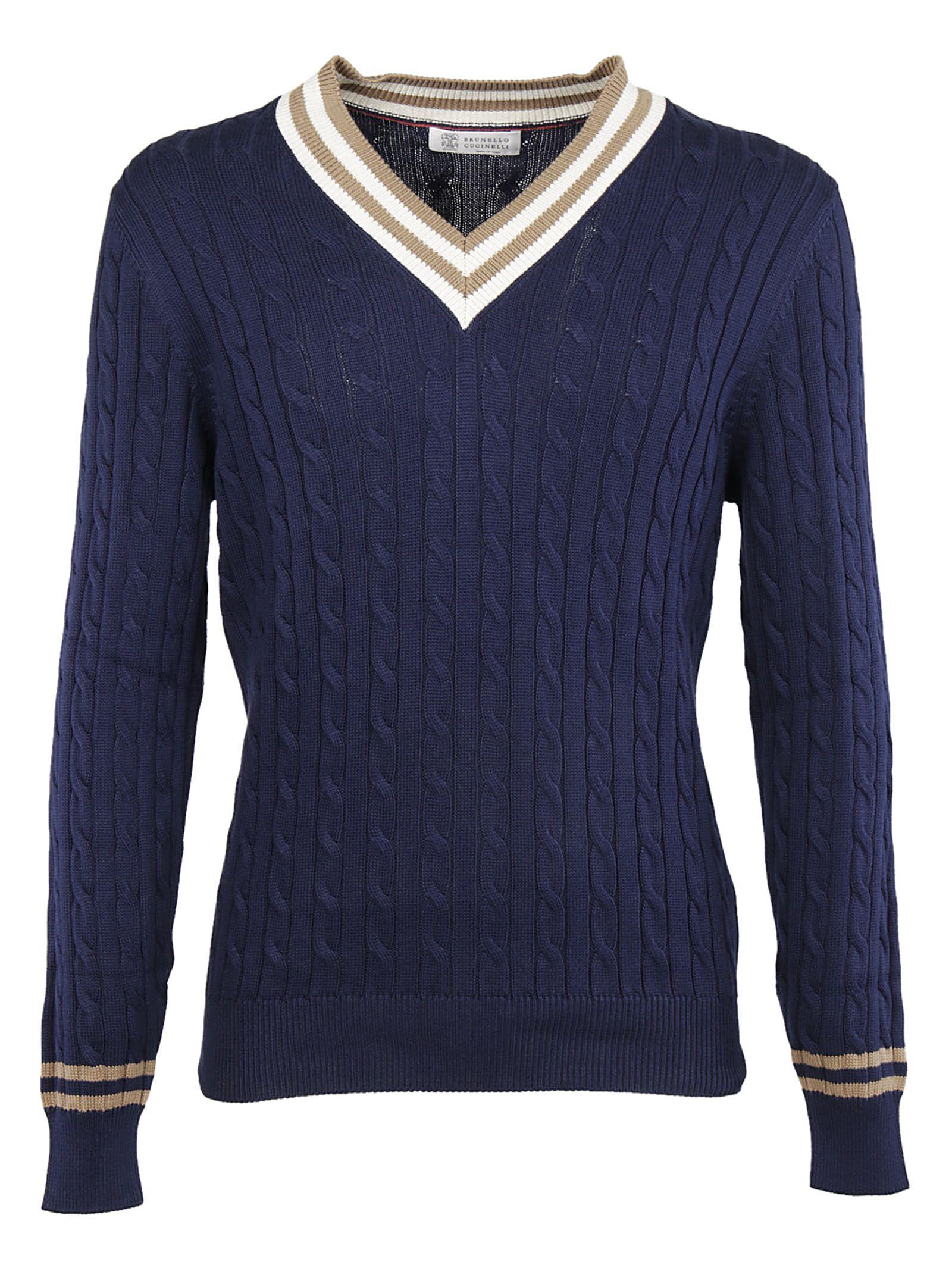 Brunello Cucinelli Knitted Sweatshirt