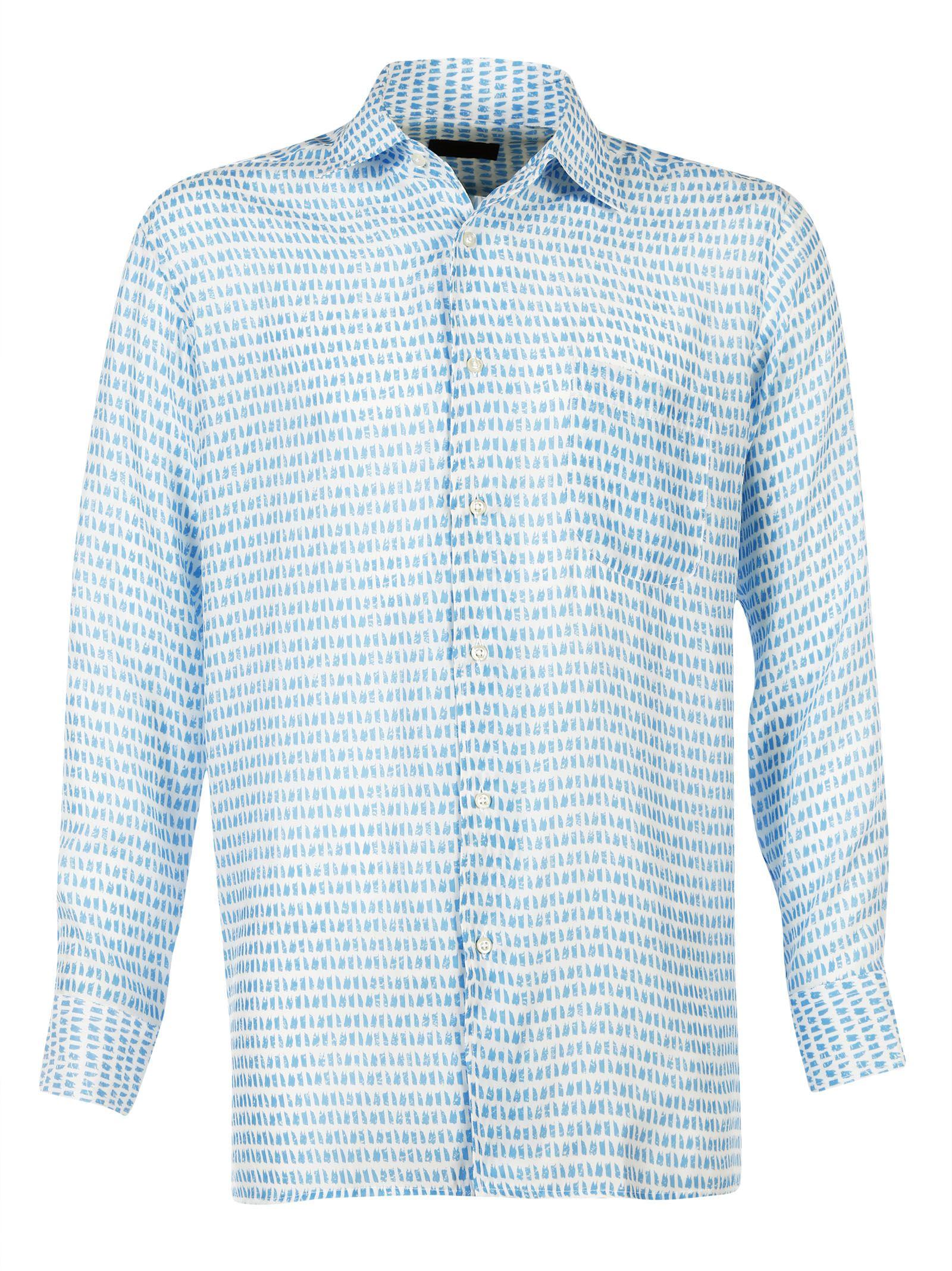 Luchino Camicie Silk Casacca Shirt