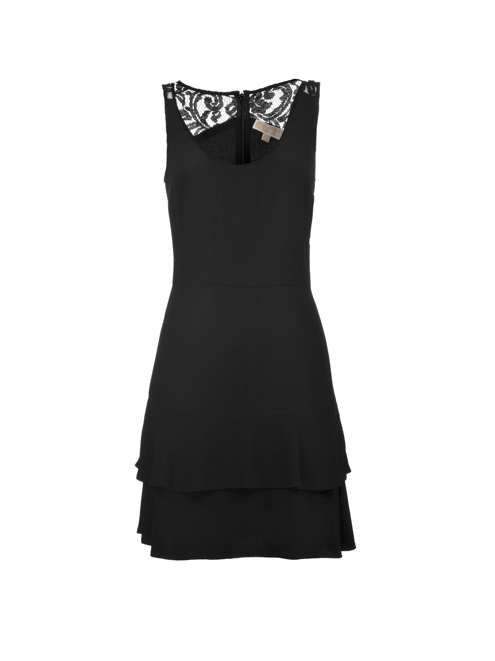 michael kors female michael kors lace back dress