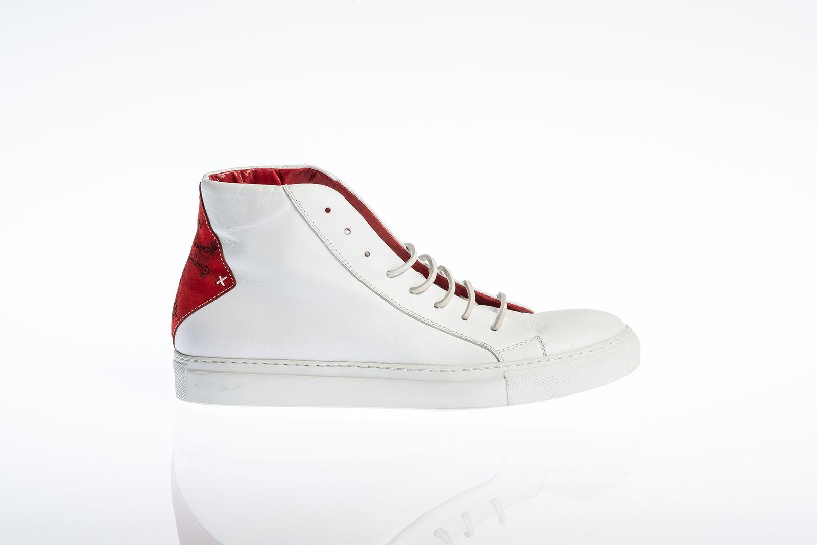 Skullkut sneakers Los Angeles red