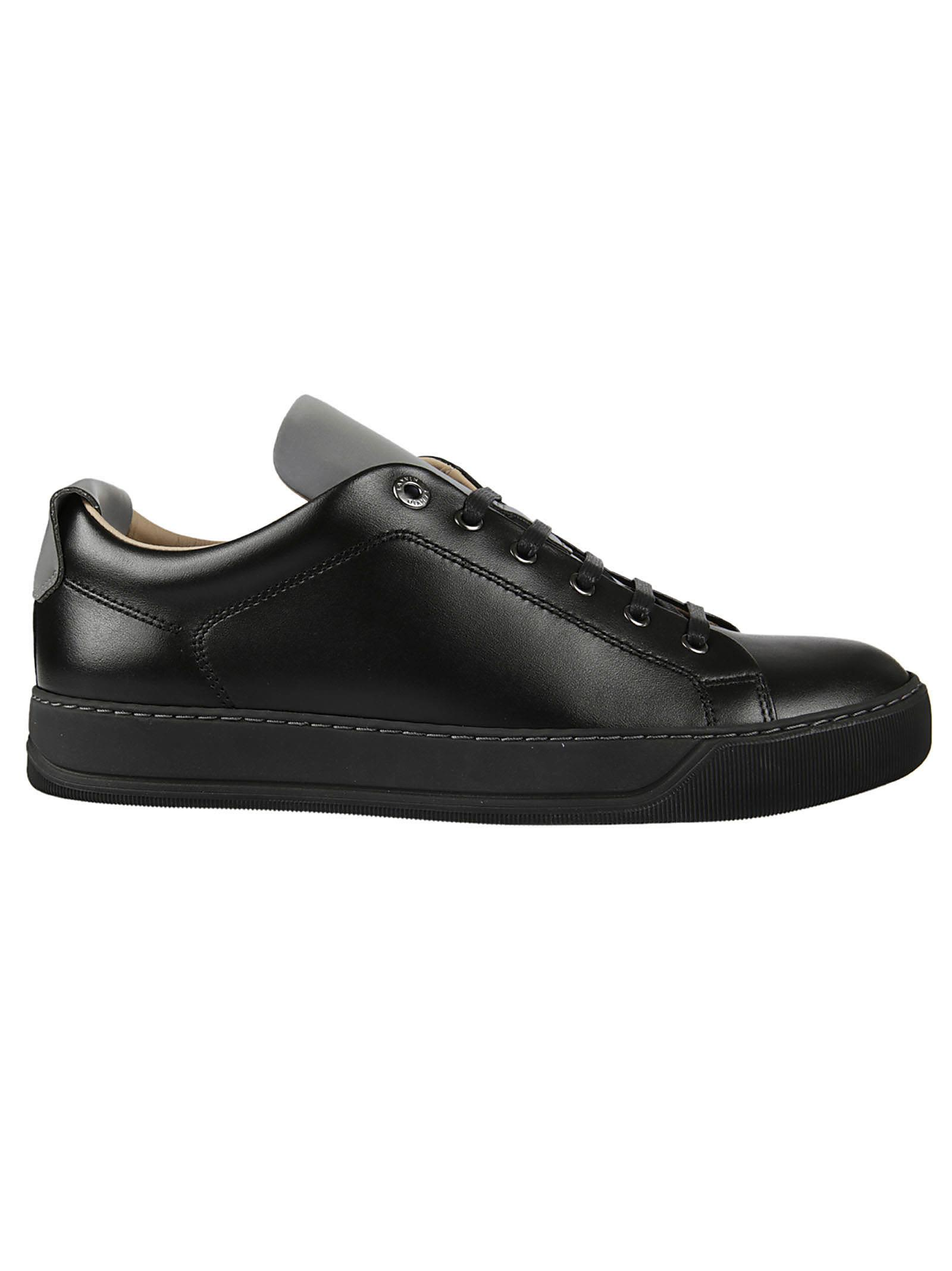 Lanvin Contrast Tongue Sneakers