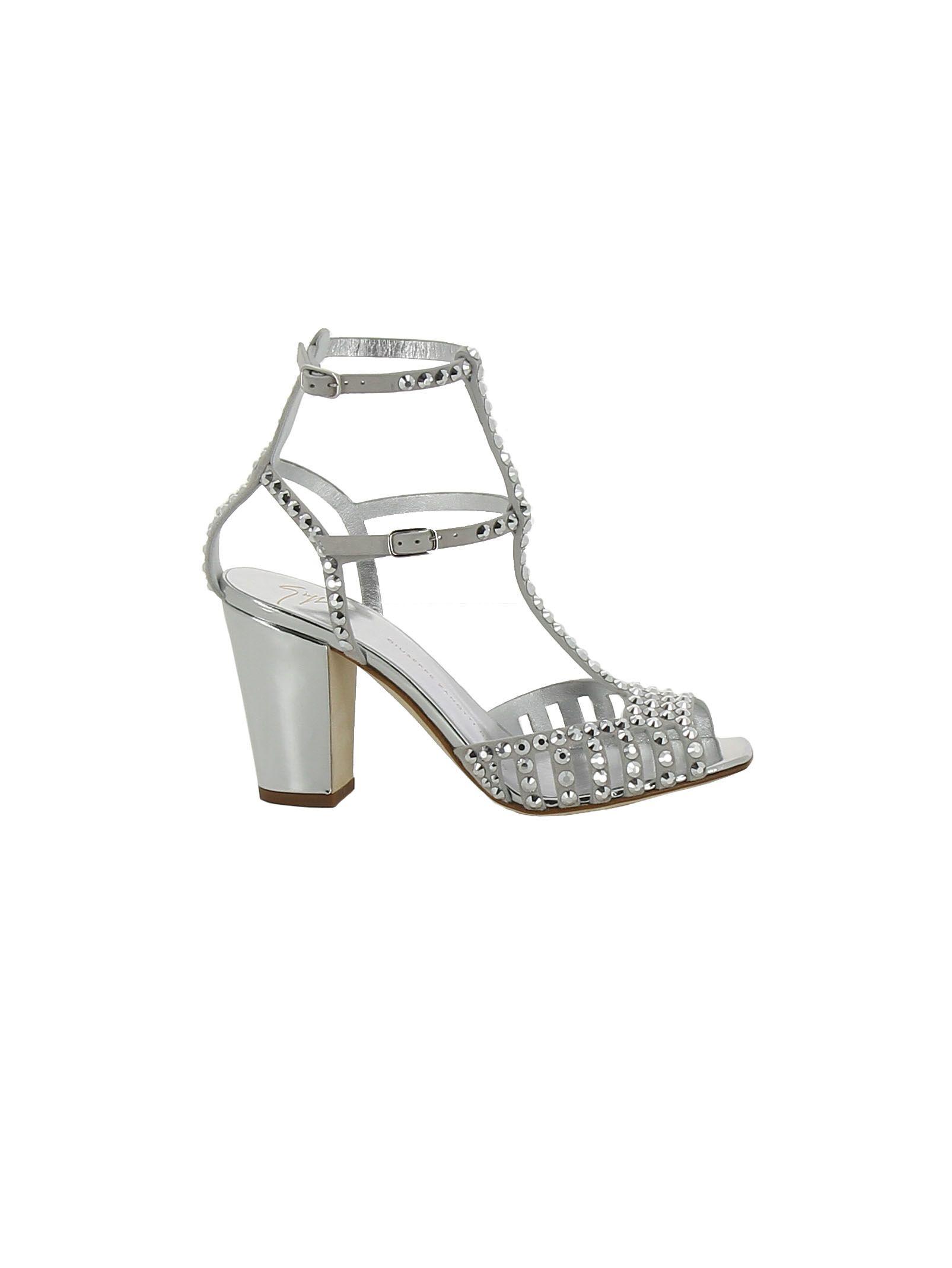 Giuseppe Zanotti Studded Caged Sandals