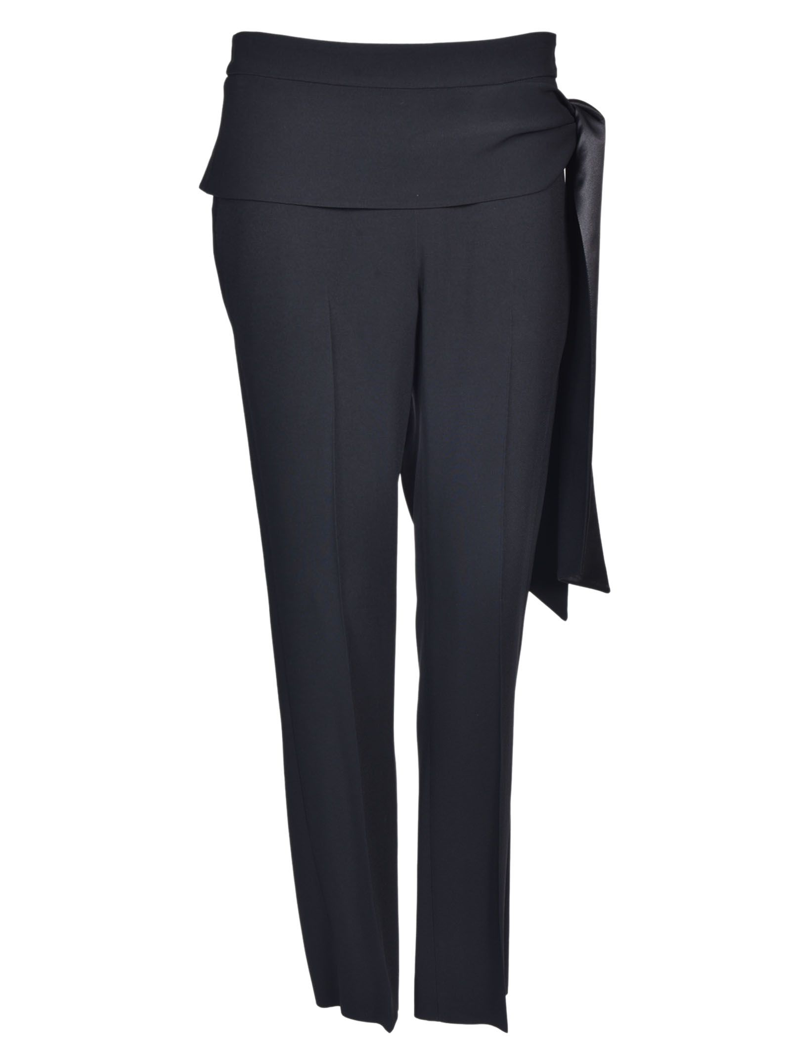 Givenchy Tie-waist Crepe Trousers
