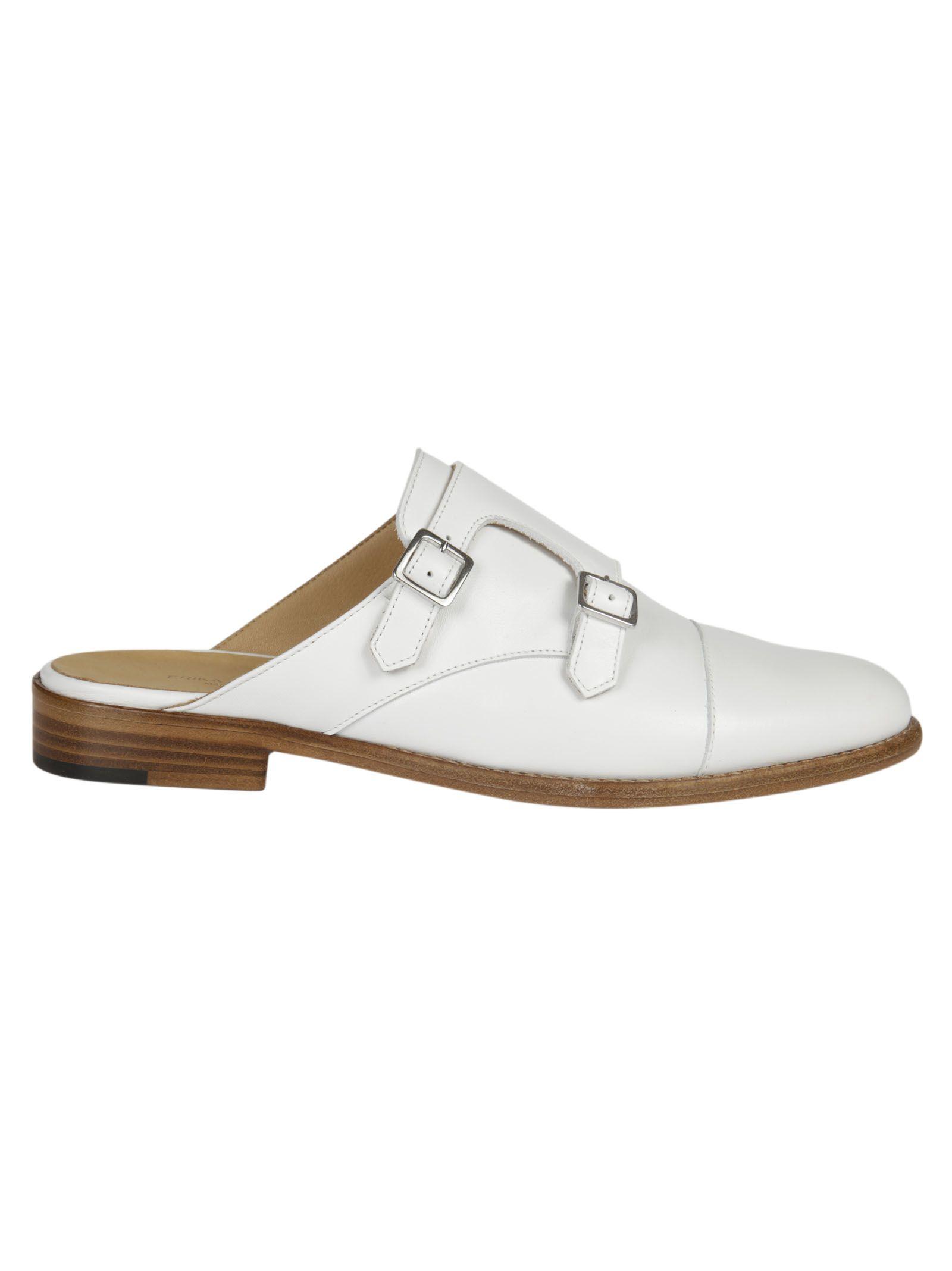 Erika Cavallini Buckled Monk Shoes