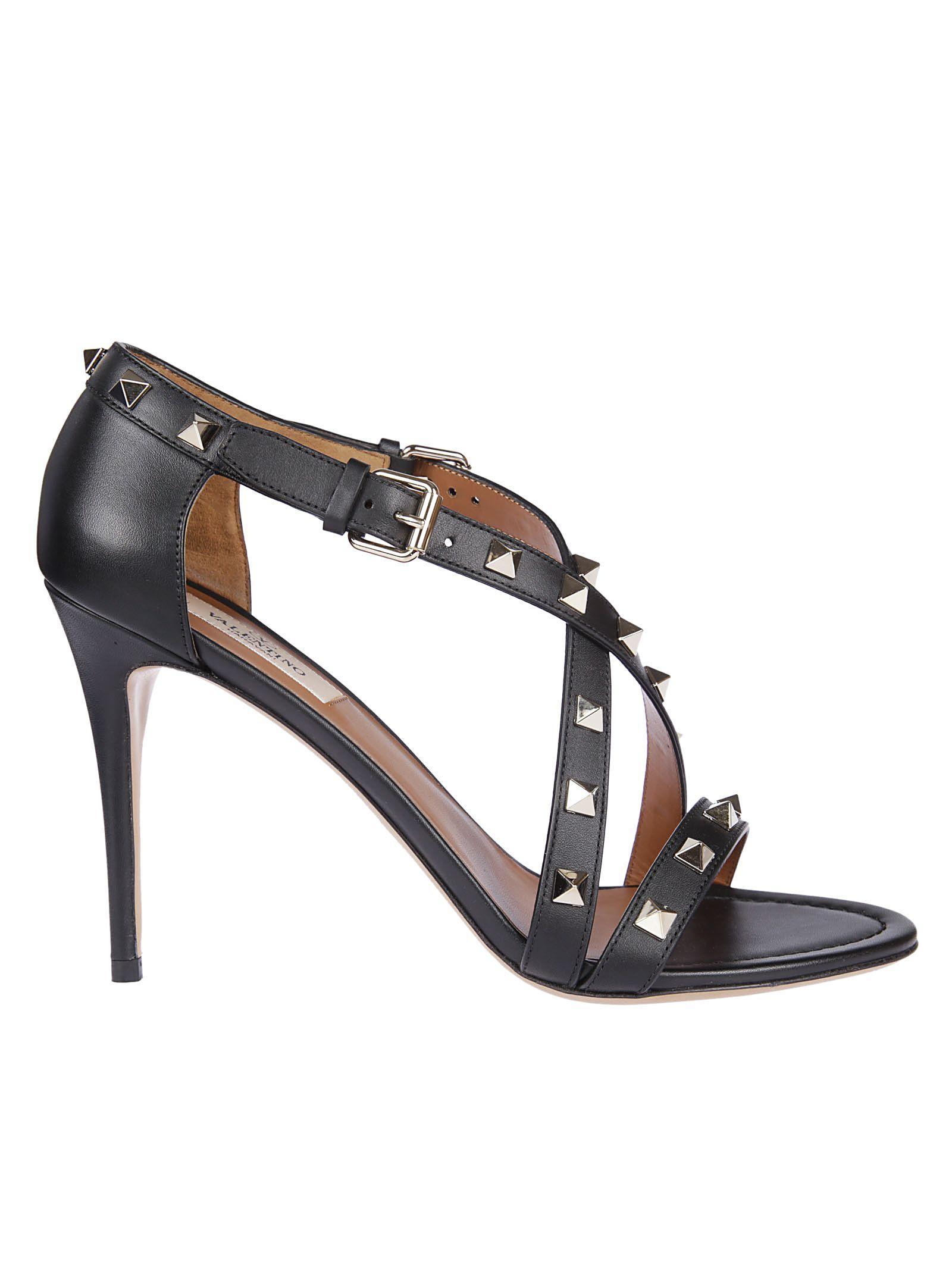 Valentino Rockstud Open Sandals