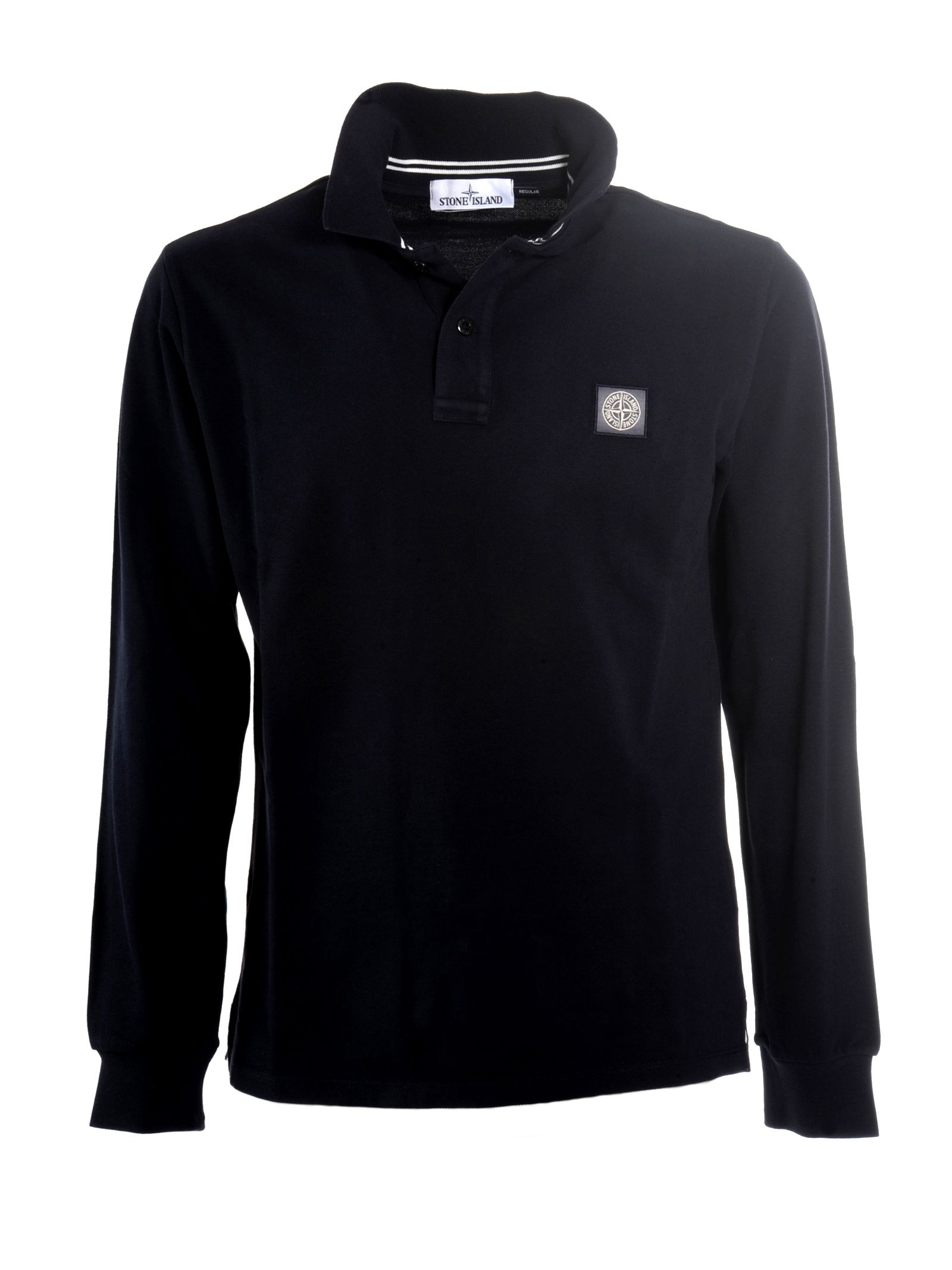 Stone Island Longsleeve Polo Shirt