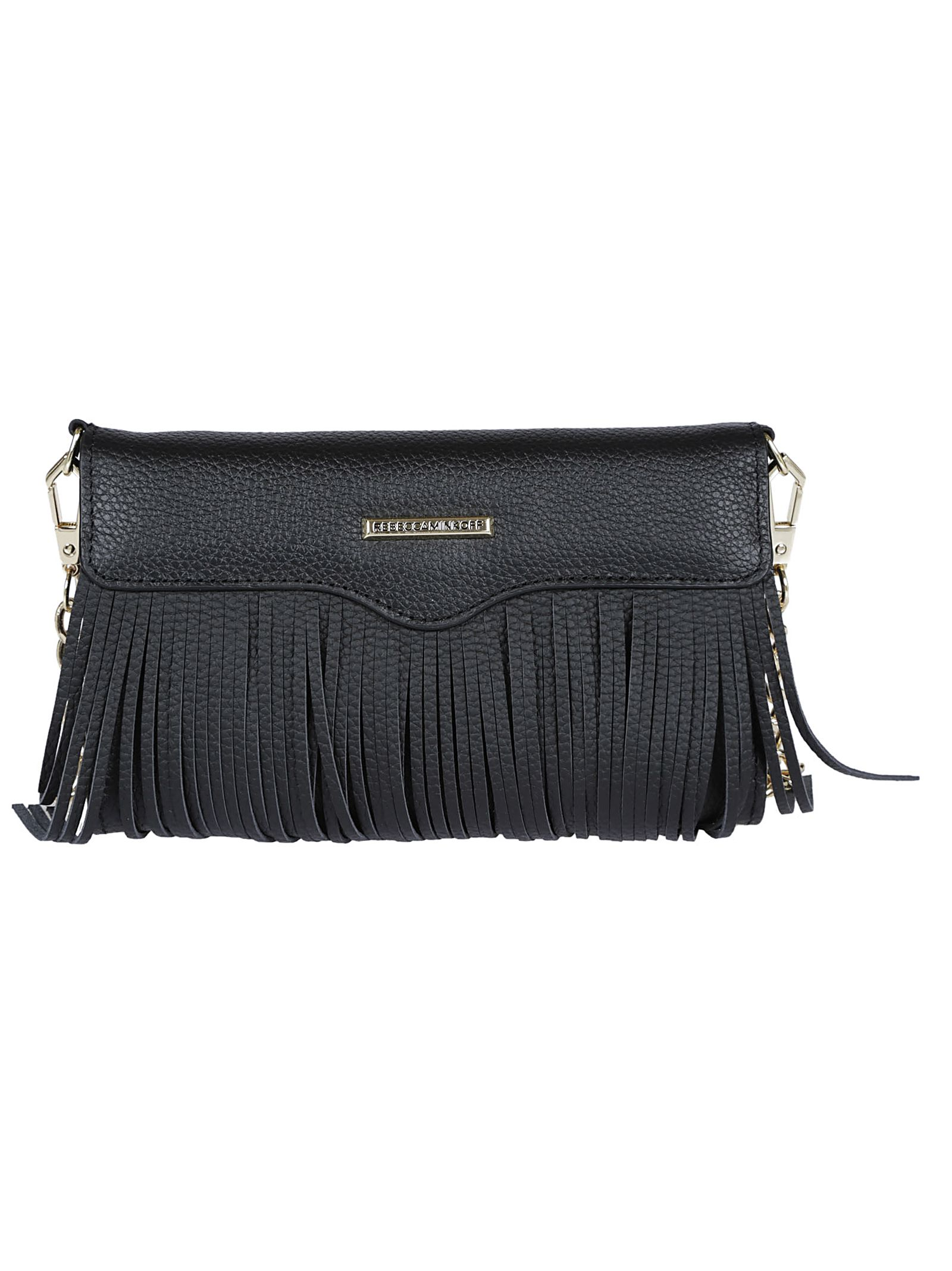 Rebecca Minkoff Fringe Phone Shoulder Bag