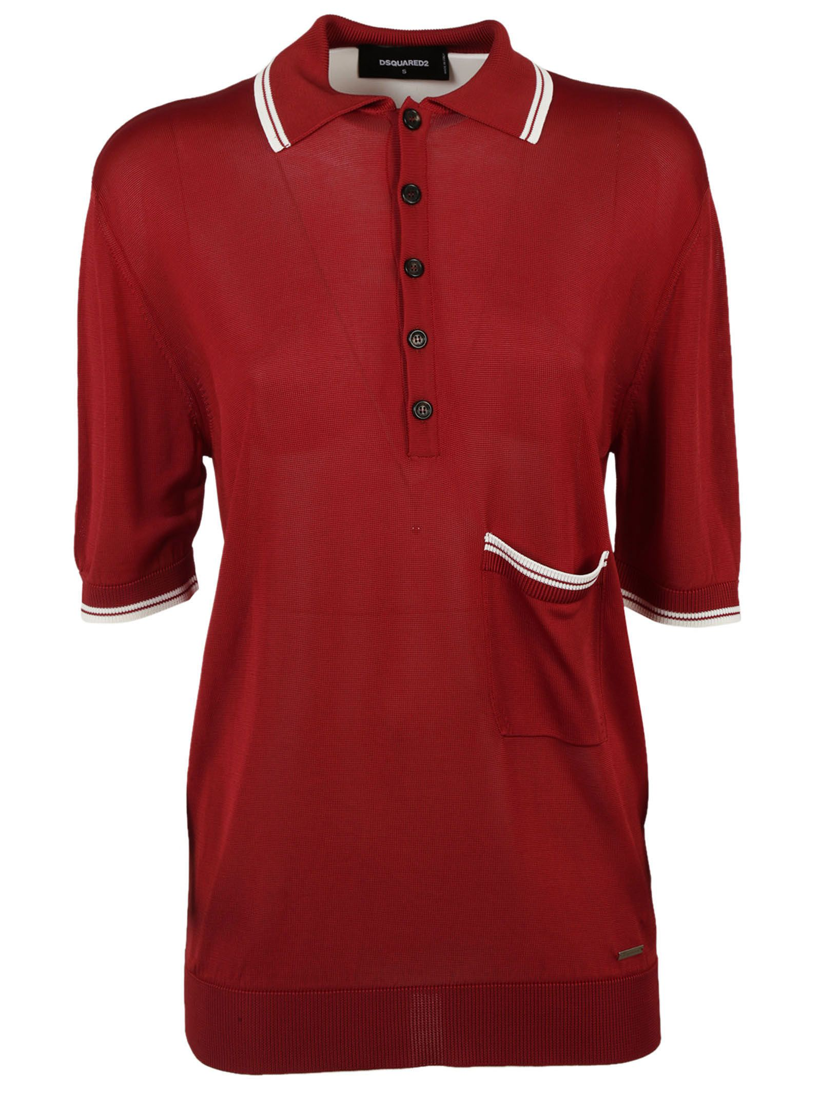Dsquared2 Polo Shirt Top