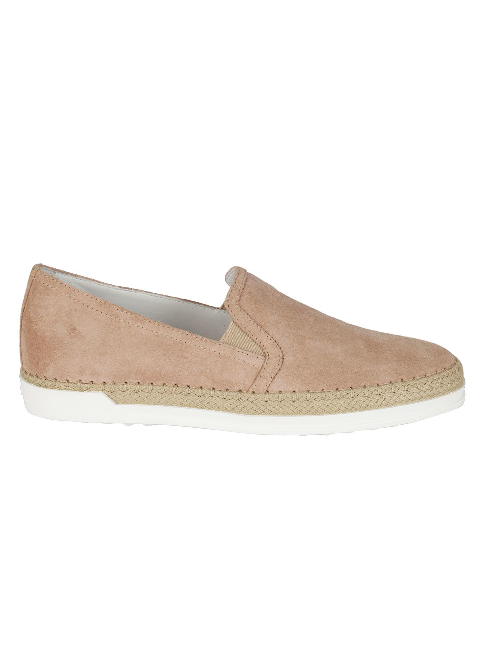 Tods Suede Slip-On Sneakers