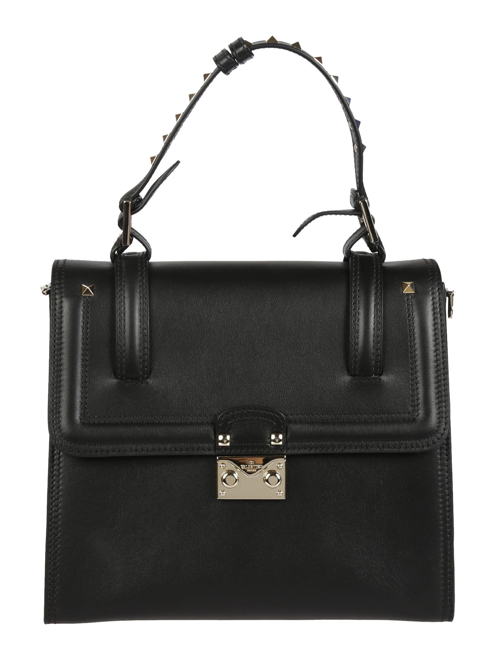 Valentino Garavani Block Lock Crossbody Bag