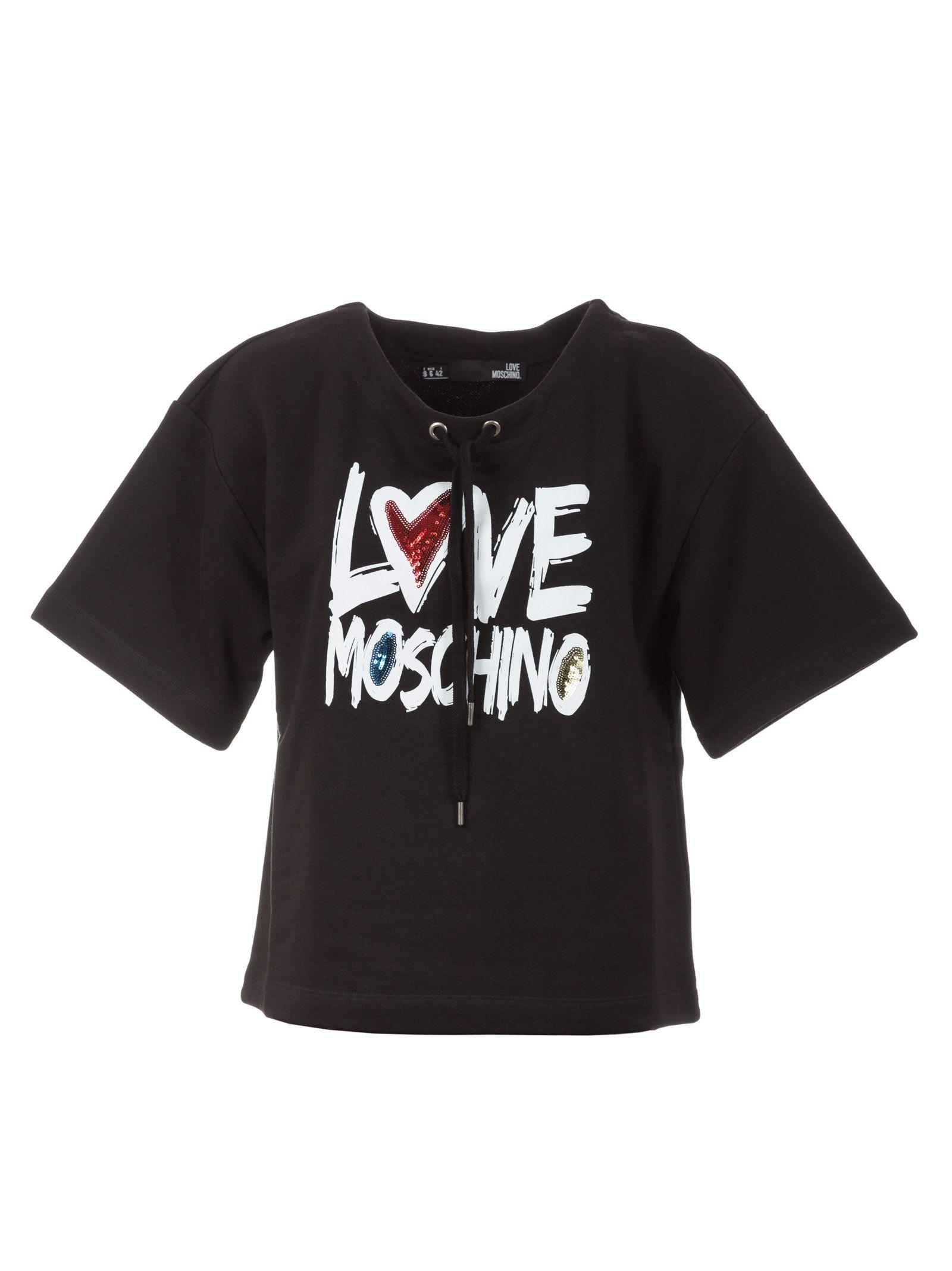 Love Moschino Drawstring T-shirt