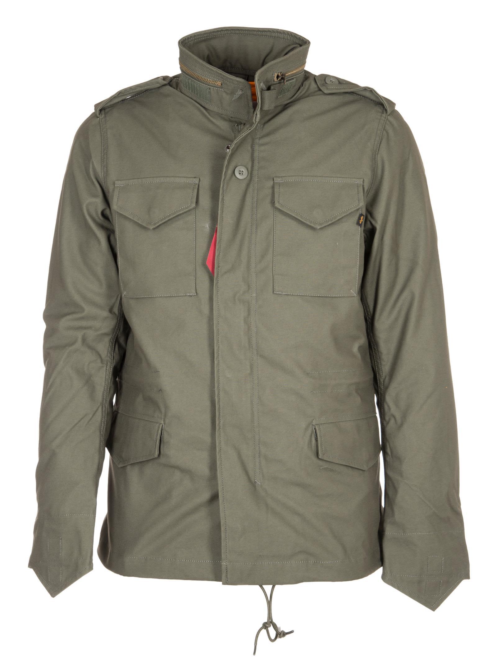 Alpha Industries Padded Zip Pull Jacket