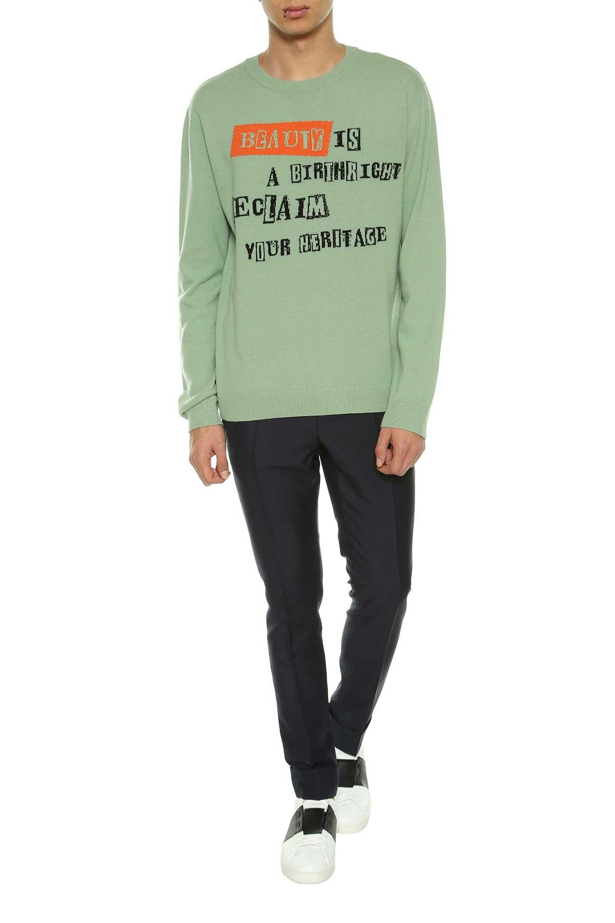 Valentino Valentino Sweater With Writings