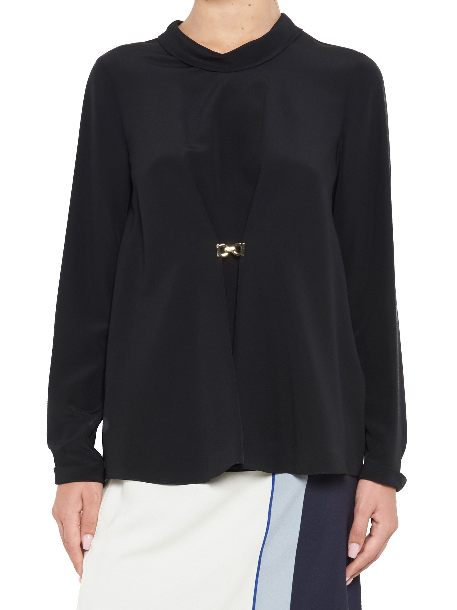 Salvatore Ferragamo Silk Shirt