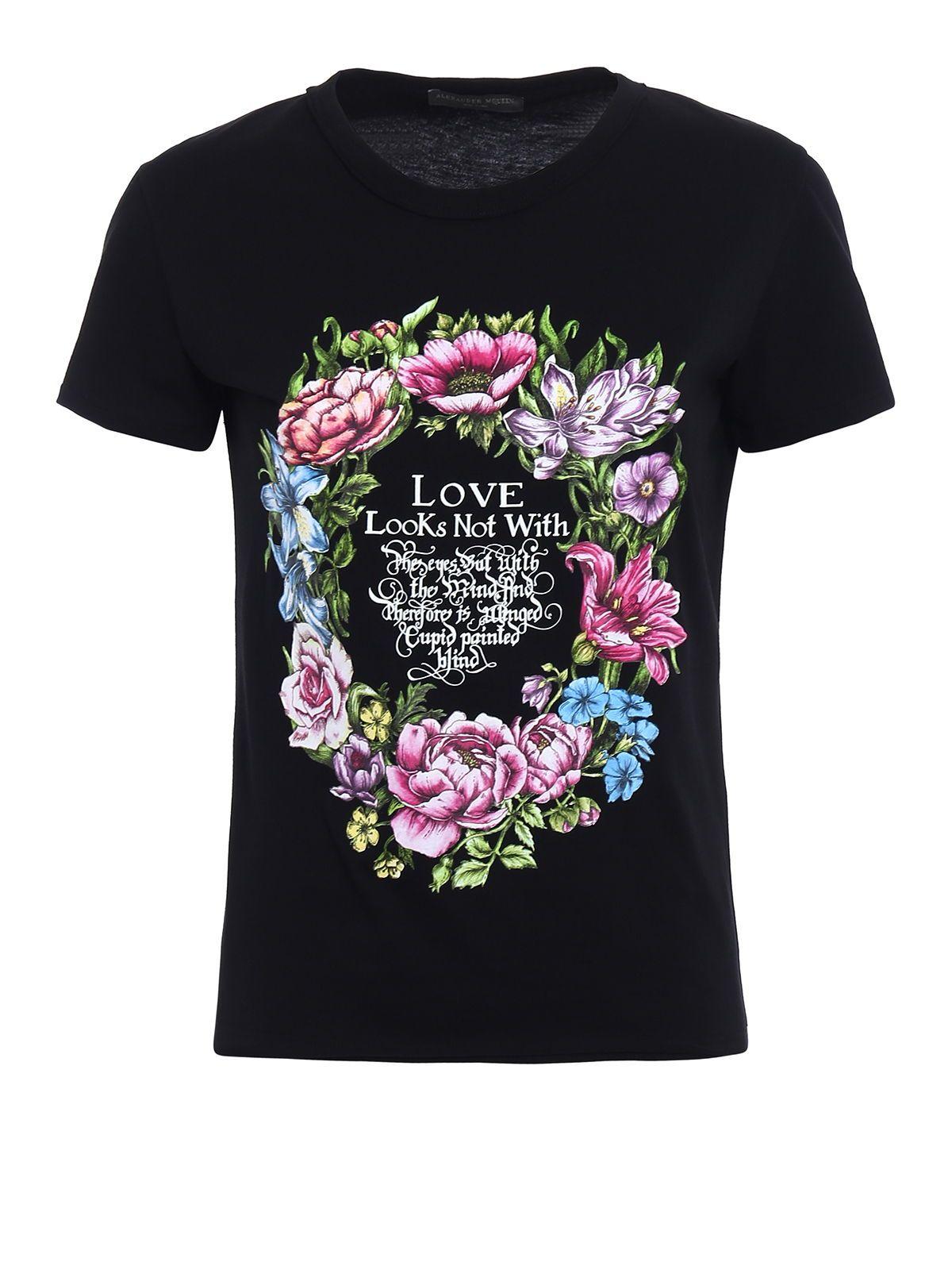 Alexander McQueen Trop Print Tshirt