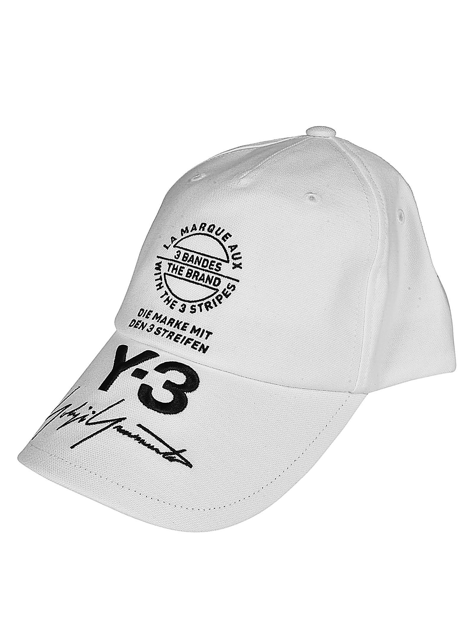 Y-3 Branded Street Cap