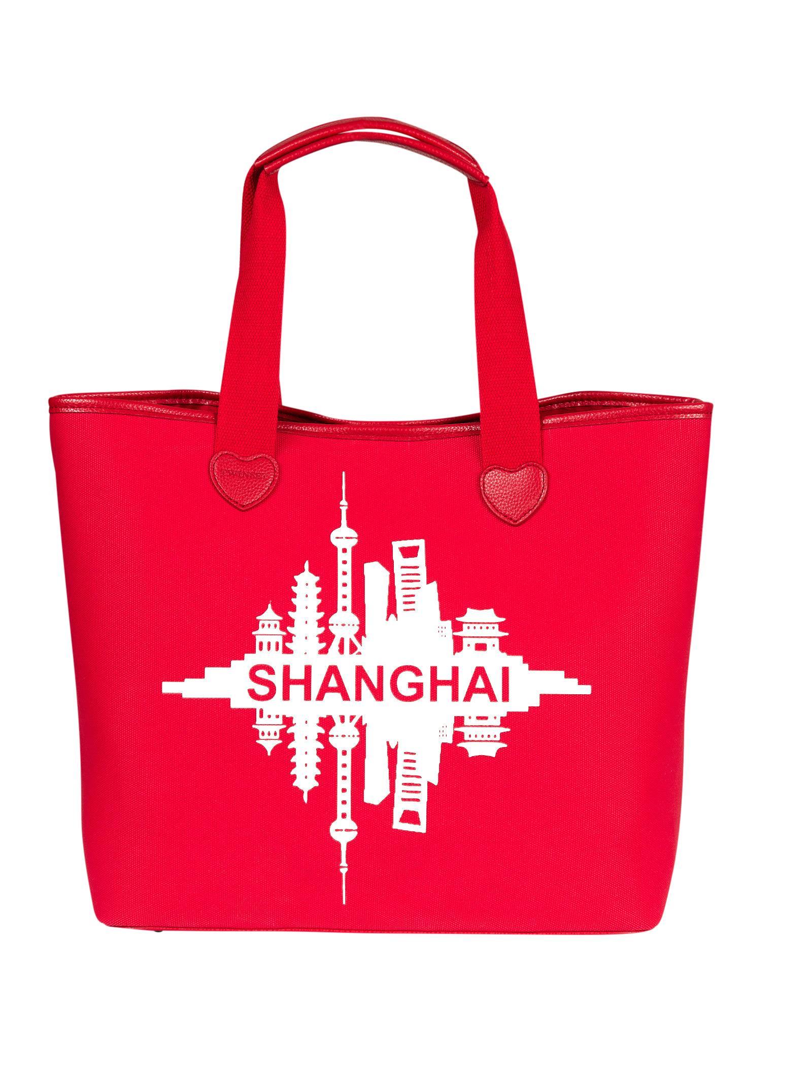 Twinset Printed Shopper Bag