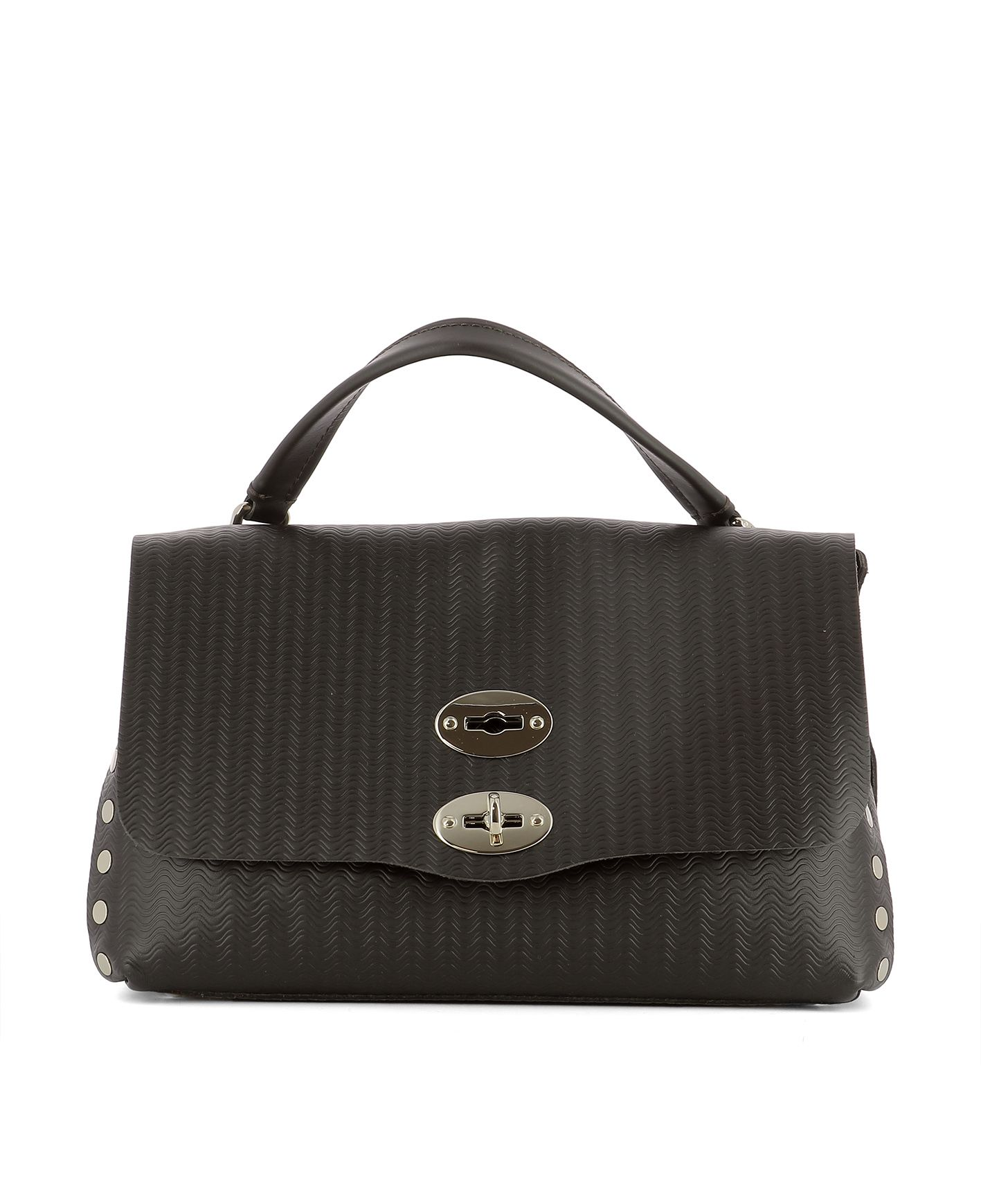 Brown Leather Handle Bag