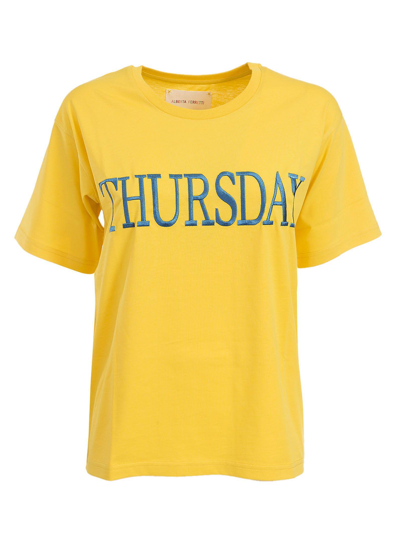 Alberta Ferretti Thursday Embroidered T-shirt