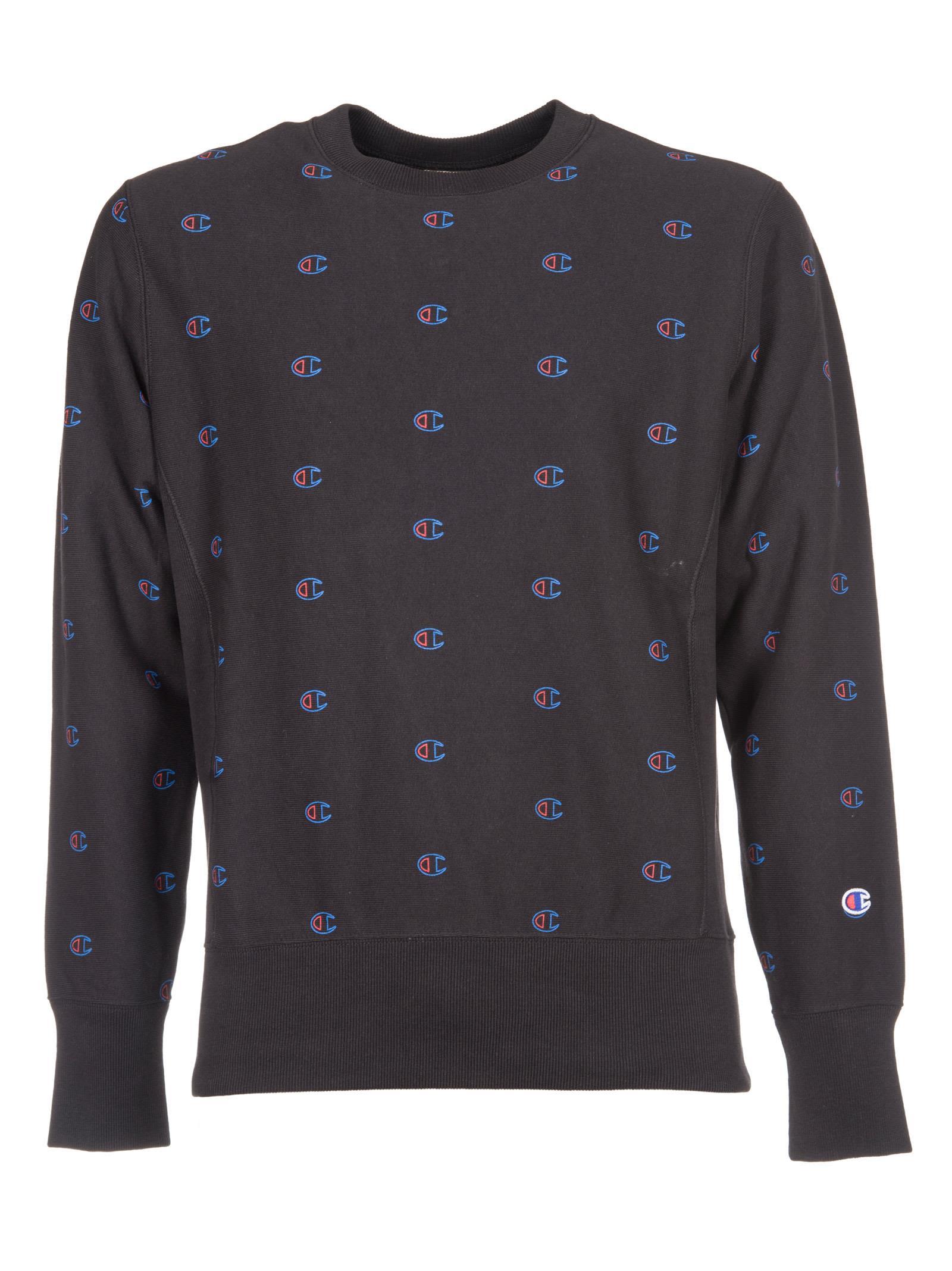 Champion Logo Print Sweatshirt