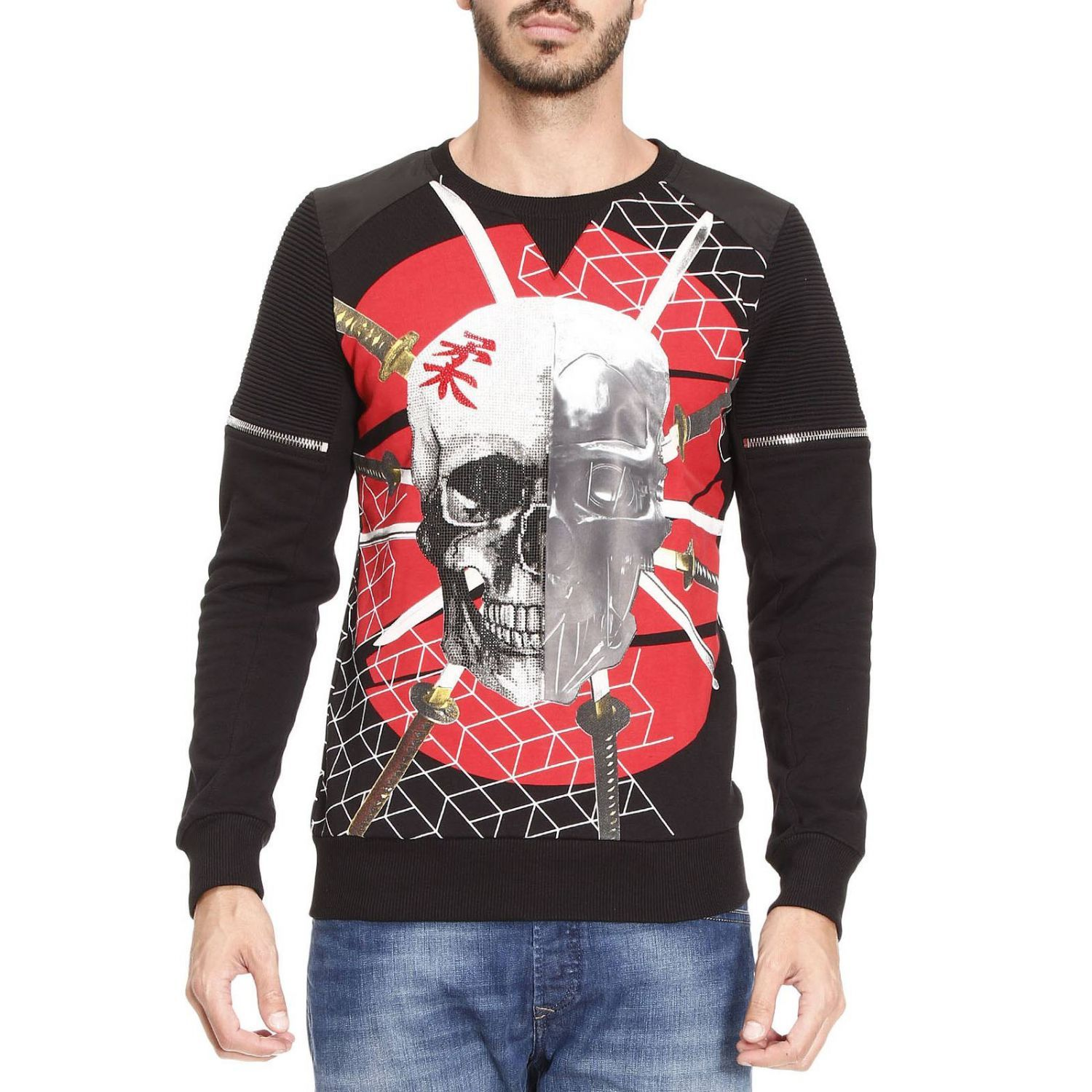 Sweatshirt Sweater Men Philipp Plein